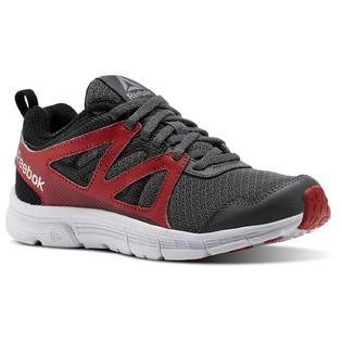 db9b2072 Reebok Boys' Run Supreme 2.0 Running Shoe - Gray/Red/Black