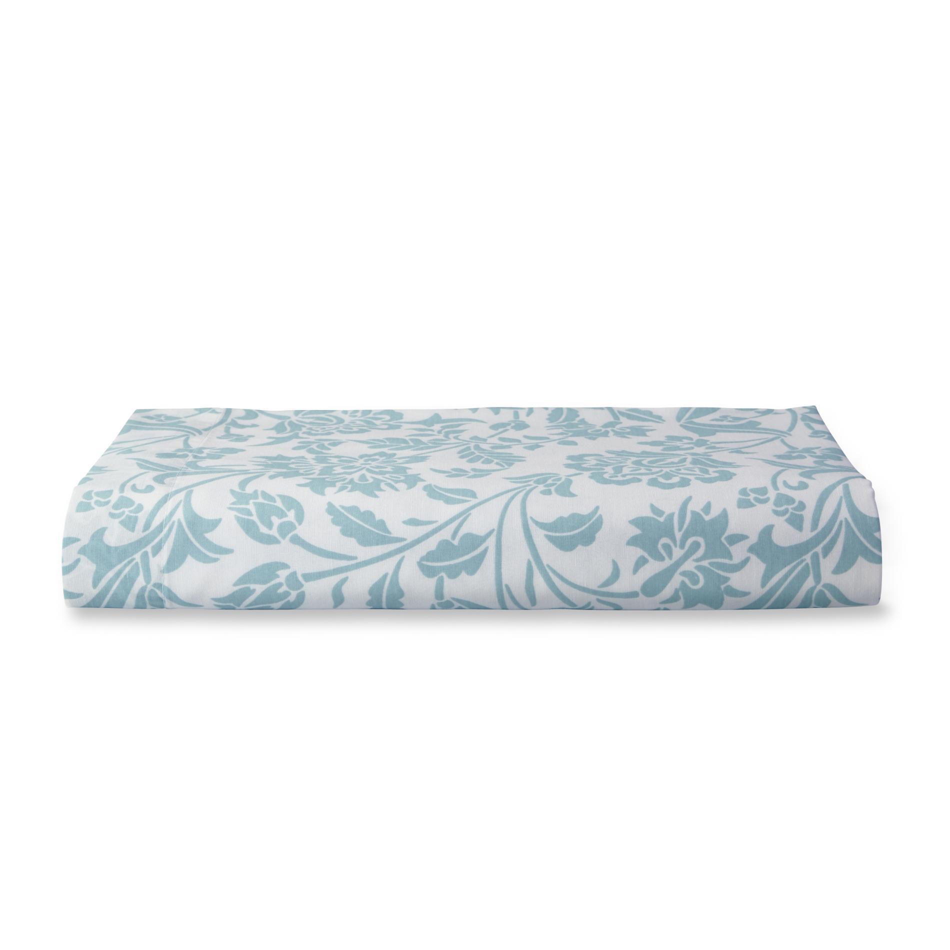 180-Thread Count Floral Bedsheet Set