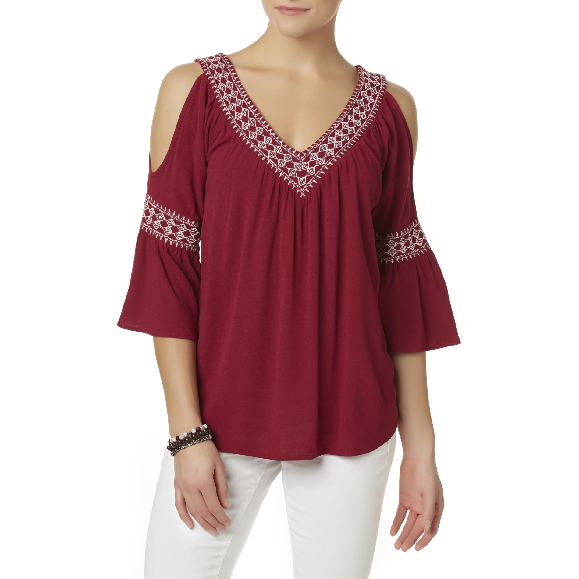 7bb468a51afbce Simply Styled Women s Cold Shoulder Tunic