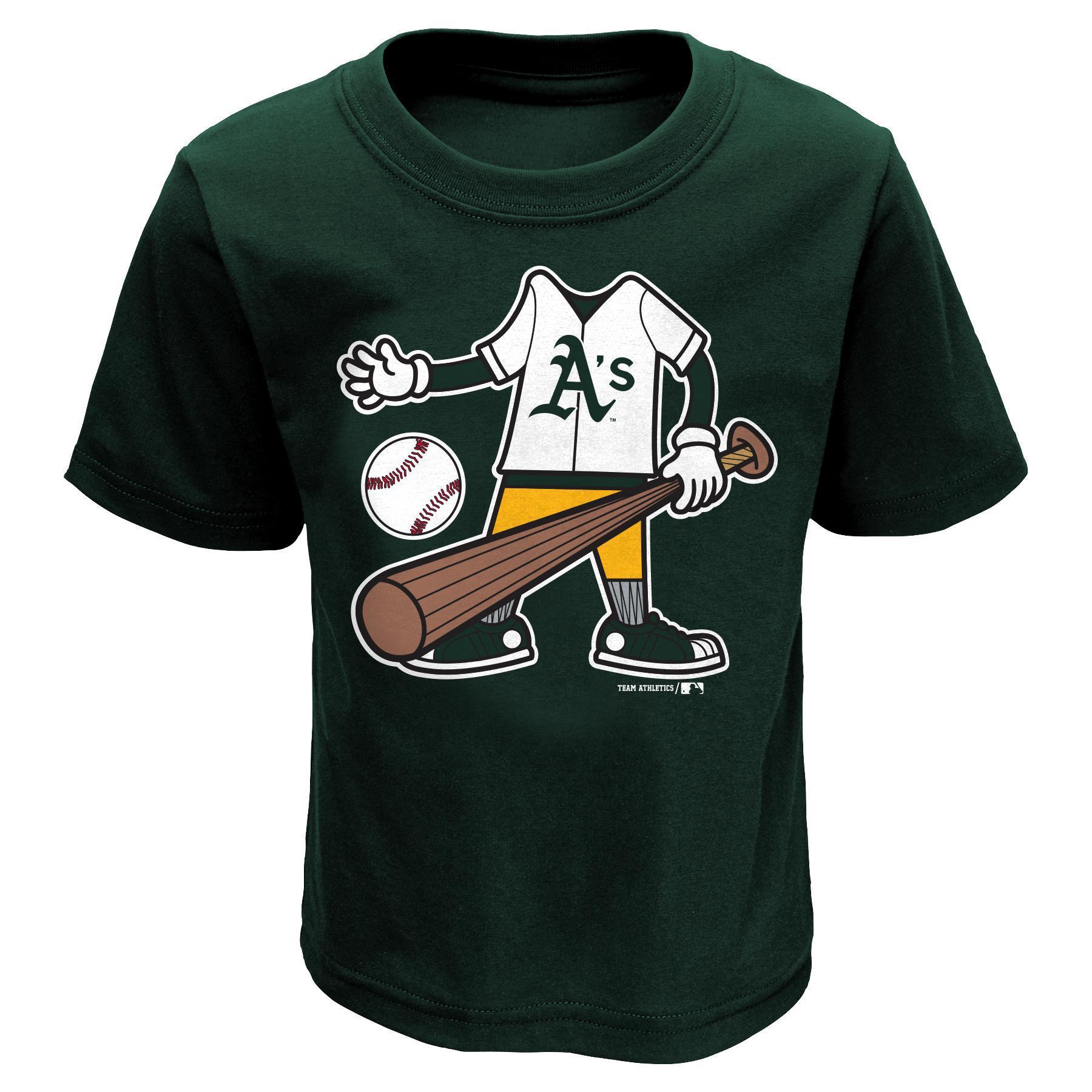 MLB Infant & Toddler Boy's T-Shirt - Oakland Athletics PartNumber: 046VA88745912P MfgPartNumber: 34CFJ-04