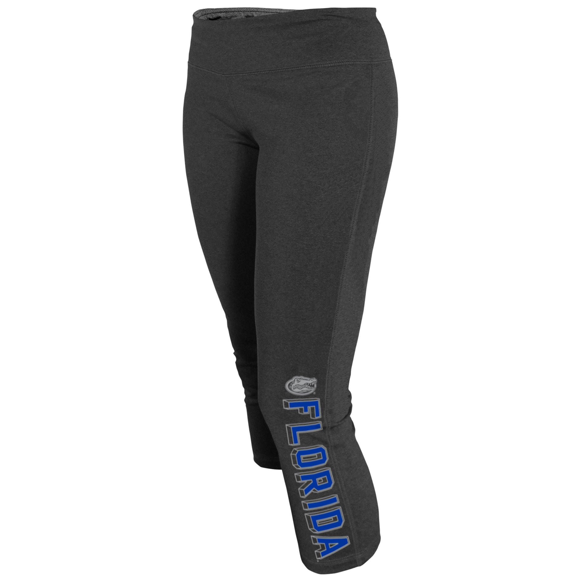 NCAA Women's Capri Yoga Pants - Florida Gators