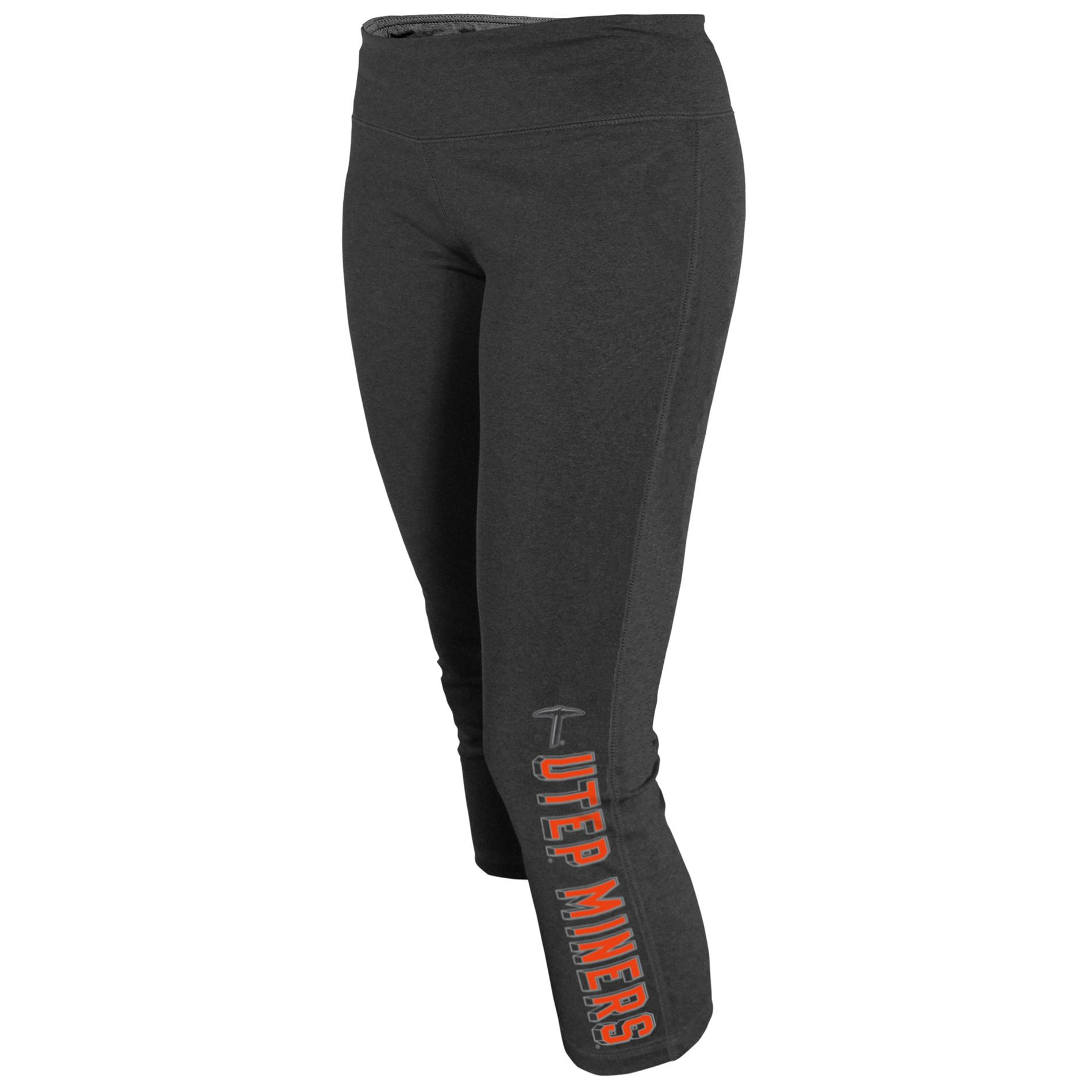 NCAA Women's Capri Yoga Pants - UTEP Miners