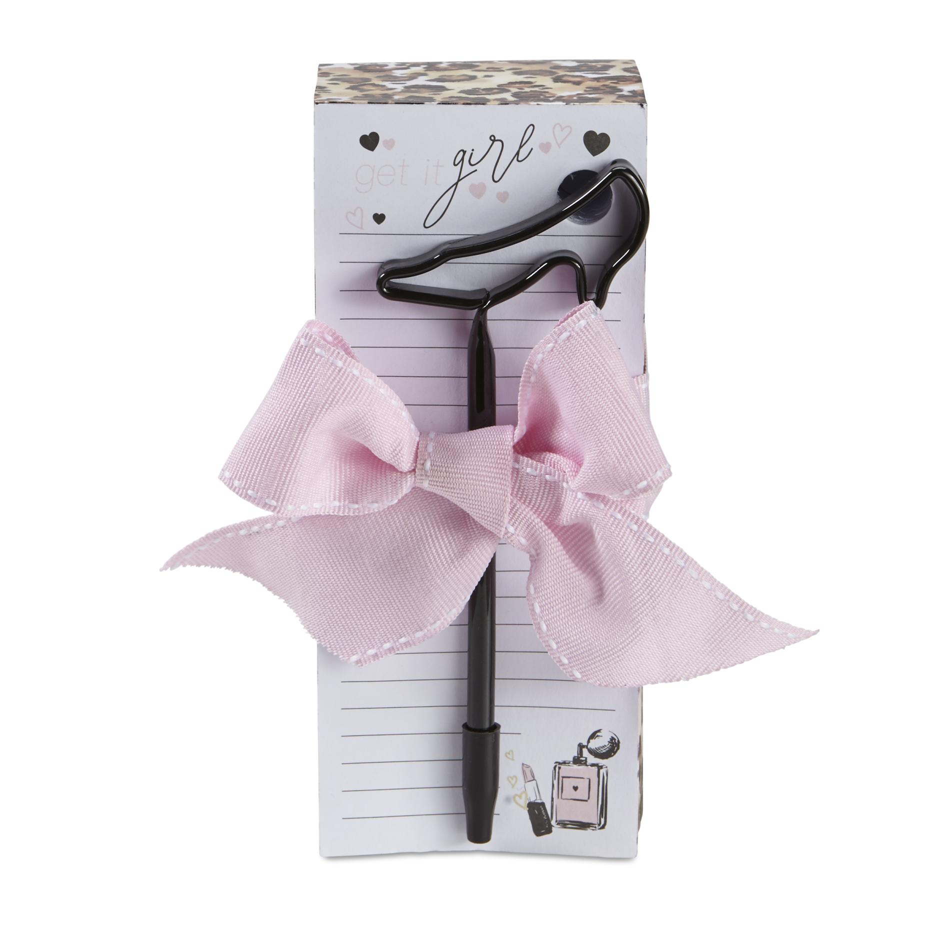 Image of 1136-20155 Notepad & Pen - Get It Girl, Multi Color