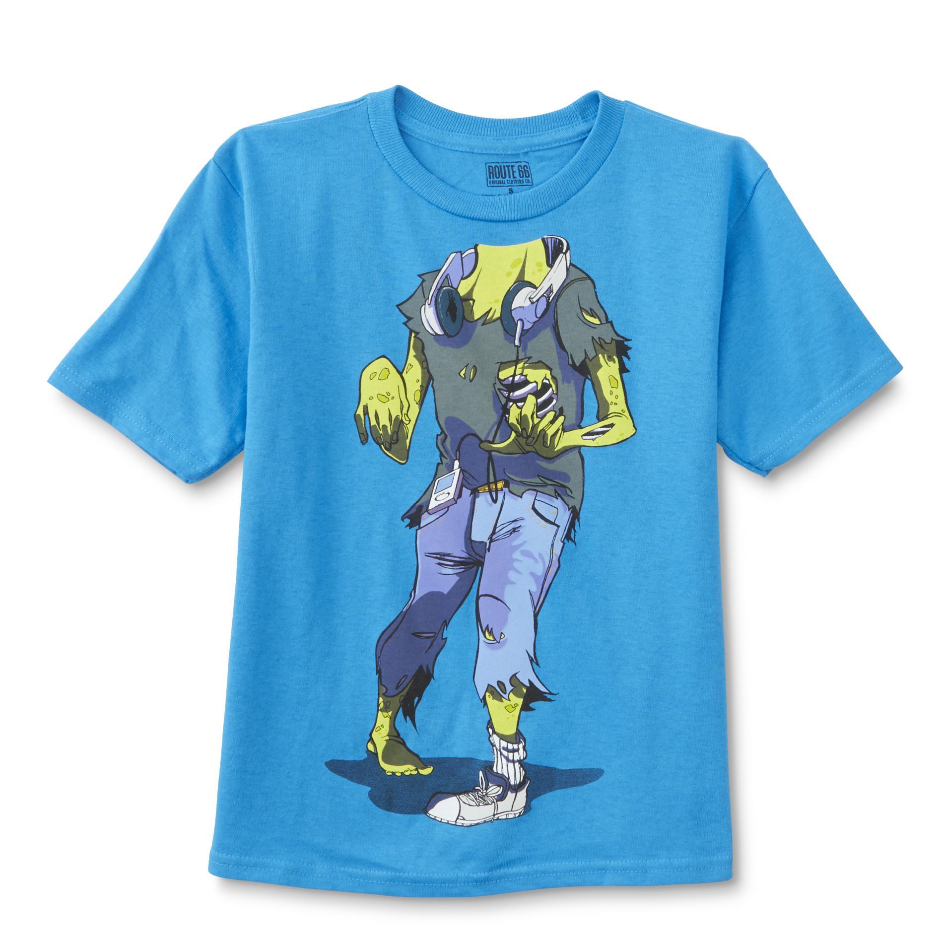 Boy's Graphic T-Shirt - Zombie