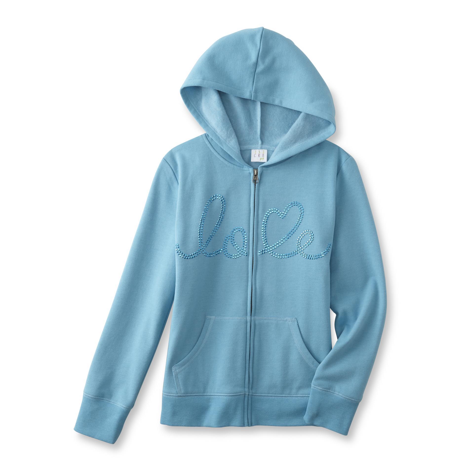 CRB Girl Girl's Graphic Hoodie Jacket - Love PartNumber: 077VA88932012P MfgPartNumber: GF6CG31008GP