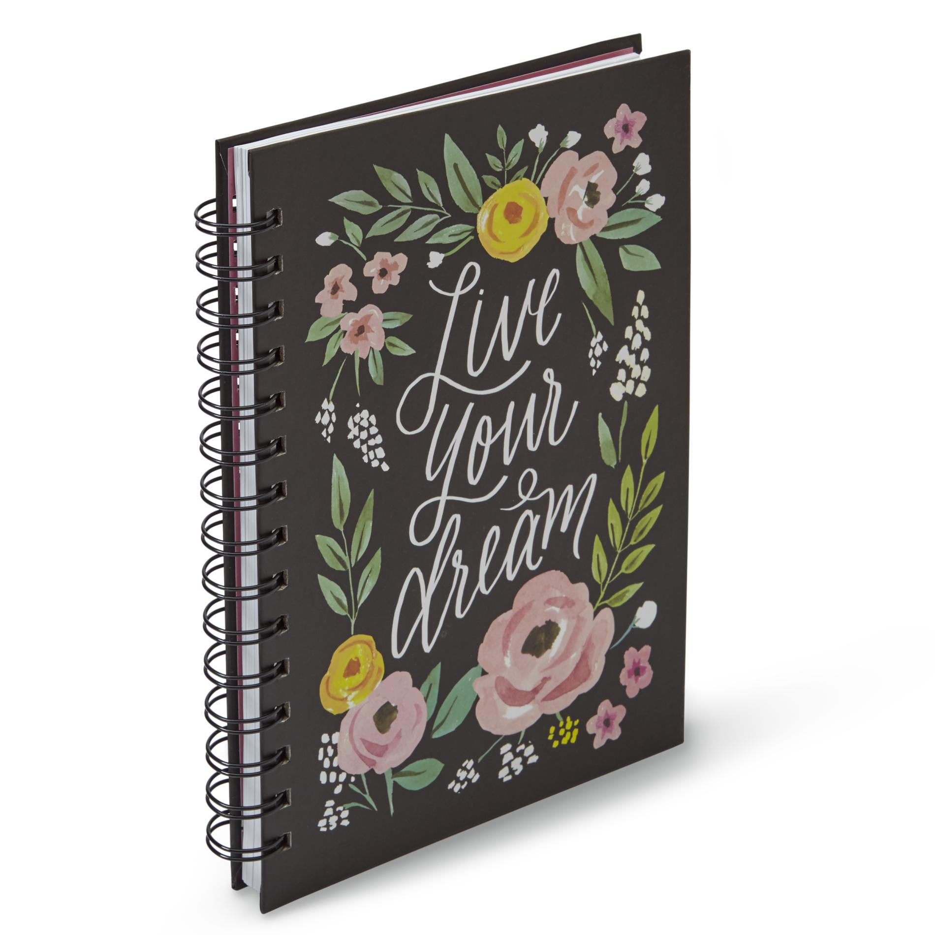 Image of 005-67866 Spiral Notebook - Live Your Dream, Multi Color