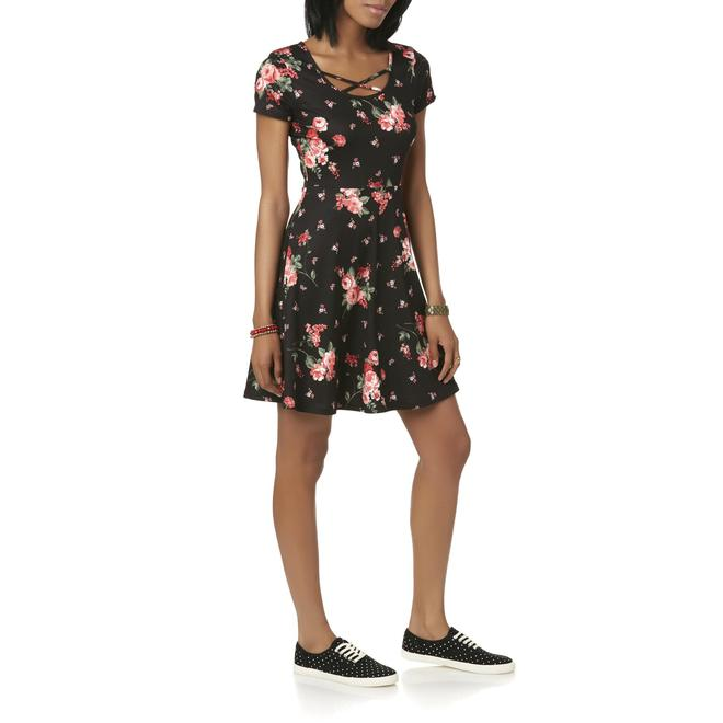 ca3d2e1d4106 Joe Boxer Joe Boxer Juniors' Skater Dress - Floral