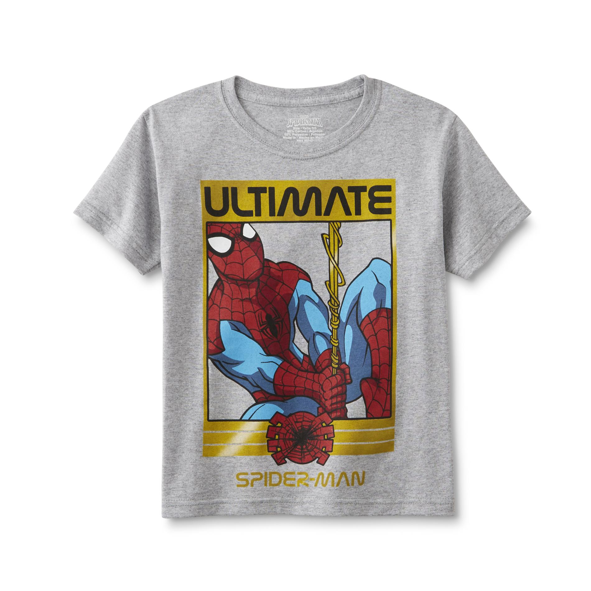 Marvel Ultimate Spider-Man Boy's Graphic T-Shirt