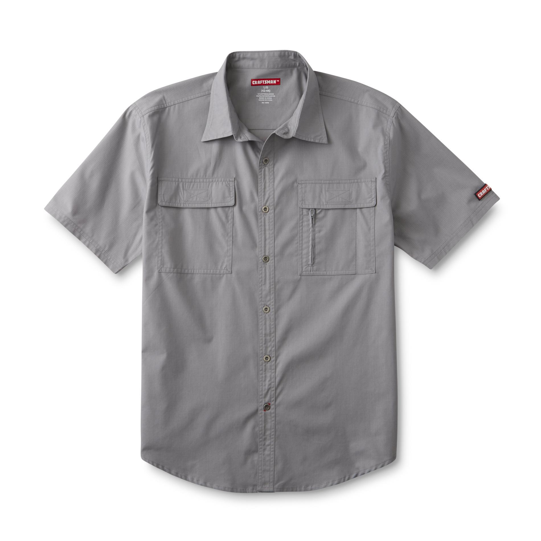 Craftsman Men's Short-Sleeve Work Shirt