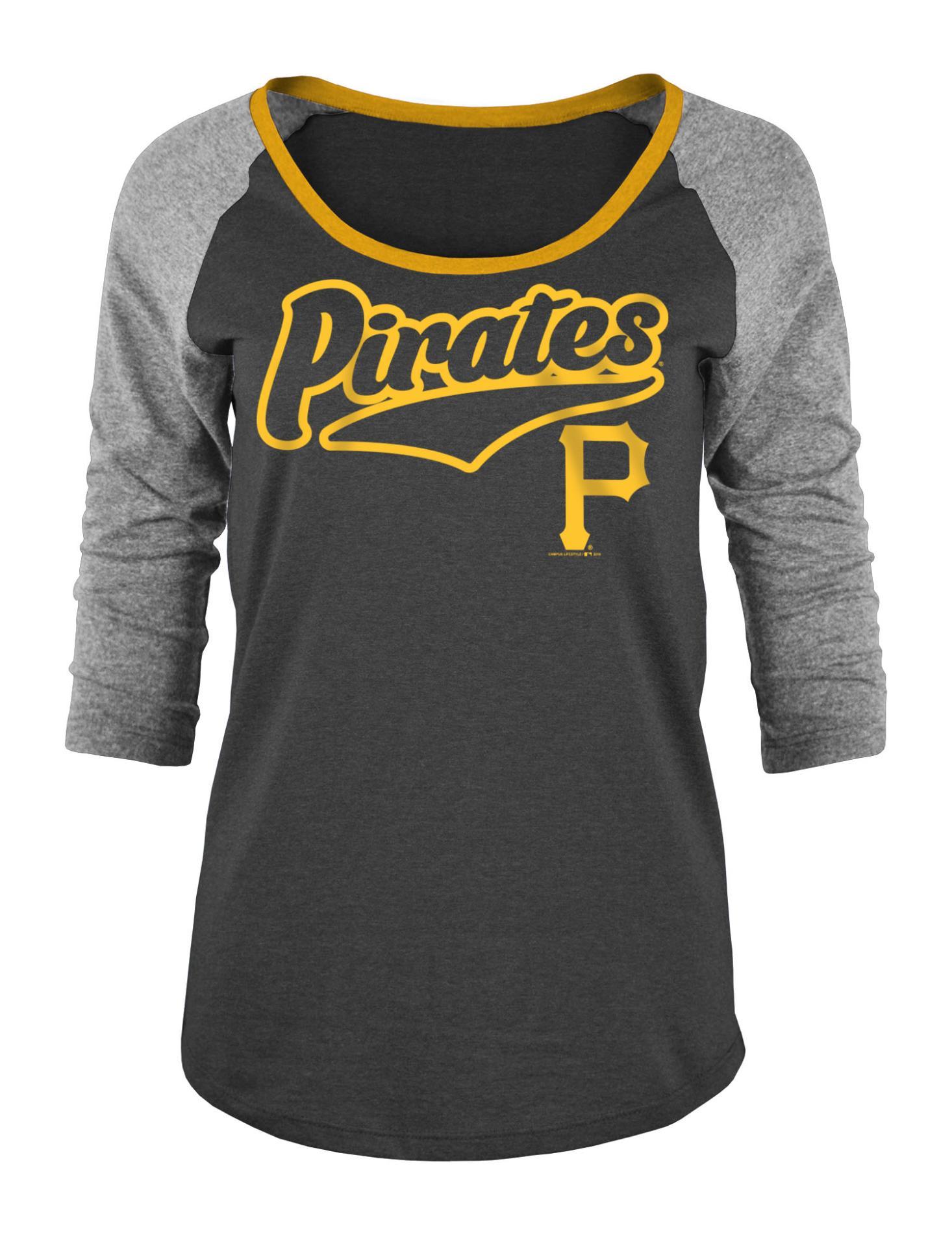 MLB Women's Raglan T-Shirt - Pittsburgh Pirates