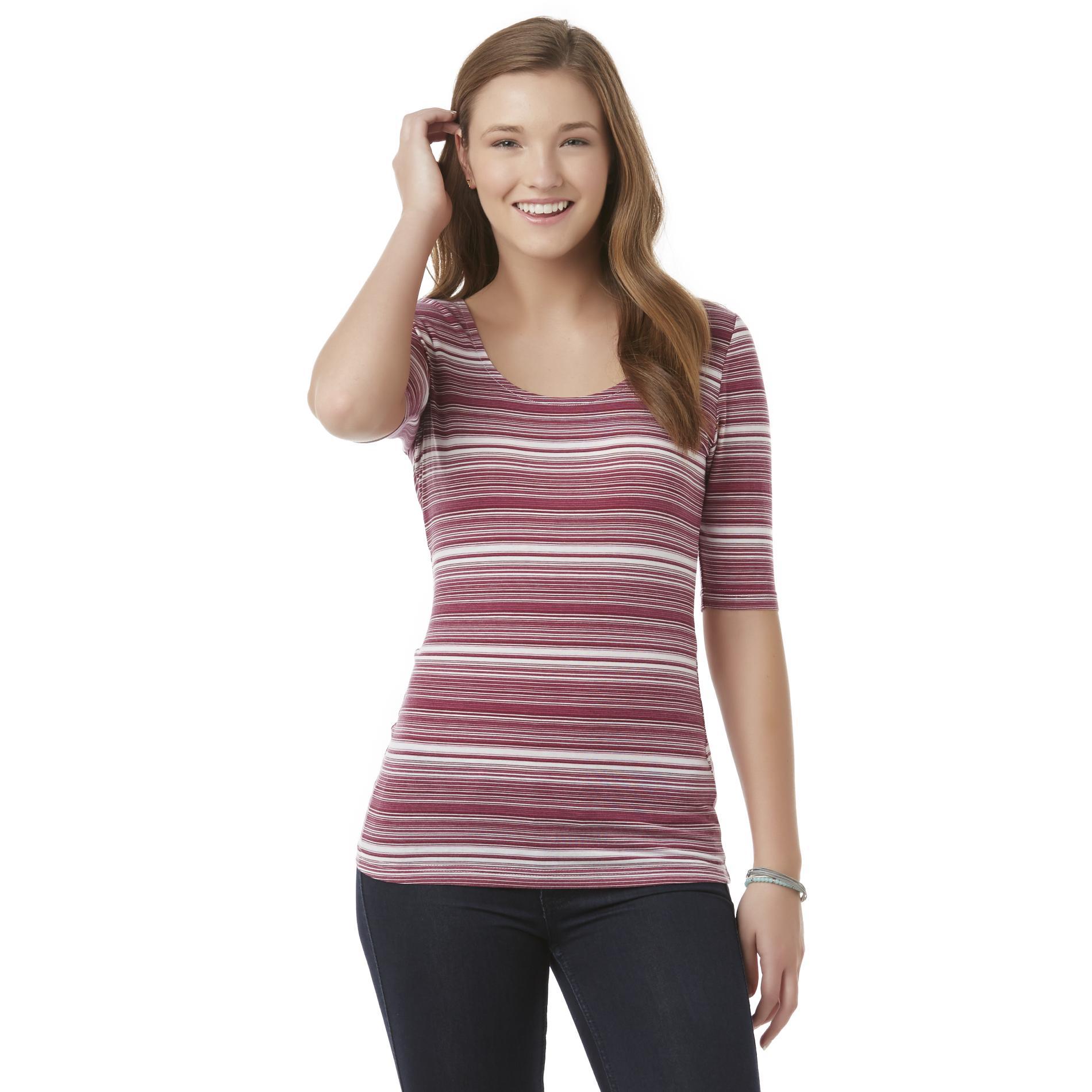 Bongo Junior's Short-Sleeve Top - Striped