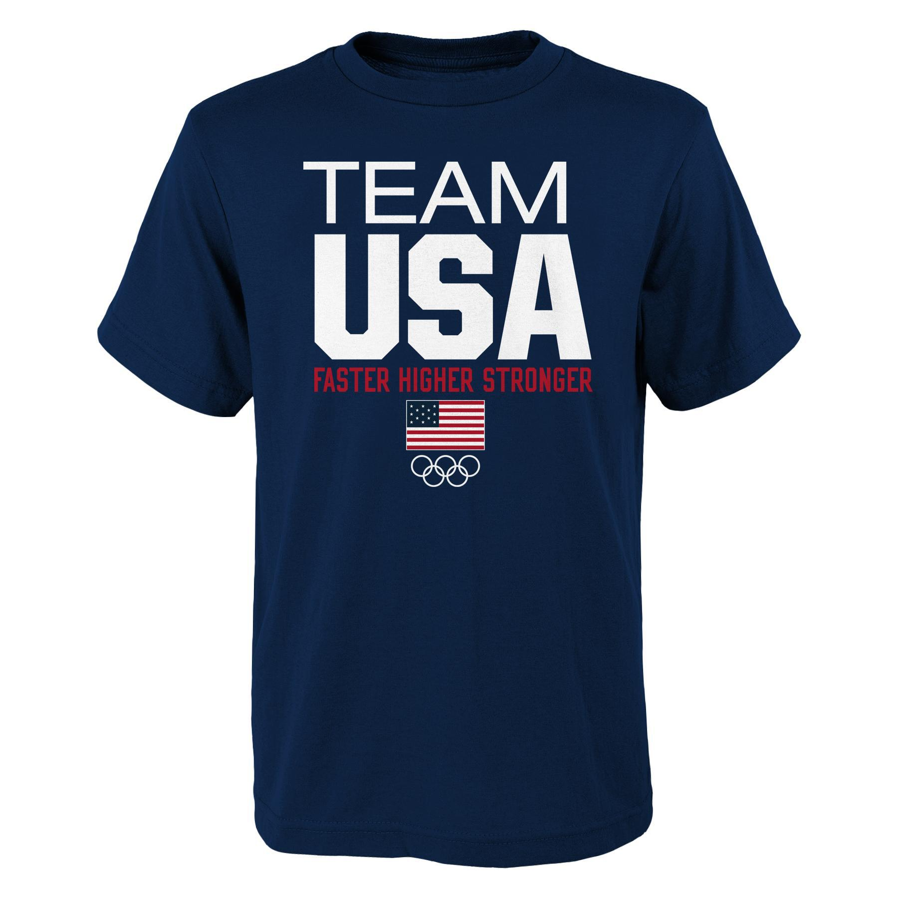Men's Olympic Games Graphic T-Shirt - Team USA PartNumber: 046VA89571312P MfgPartNumber: 60FLK-US