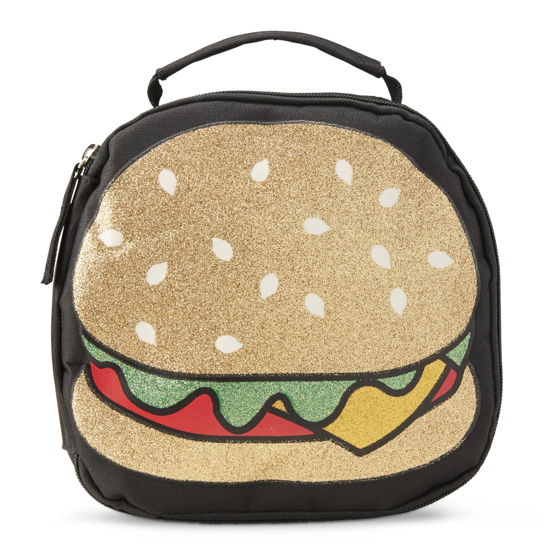 Image of CAM CONSUMER PRODUCTS, INC Girls' Lunch Bag - Cheeseburger