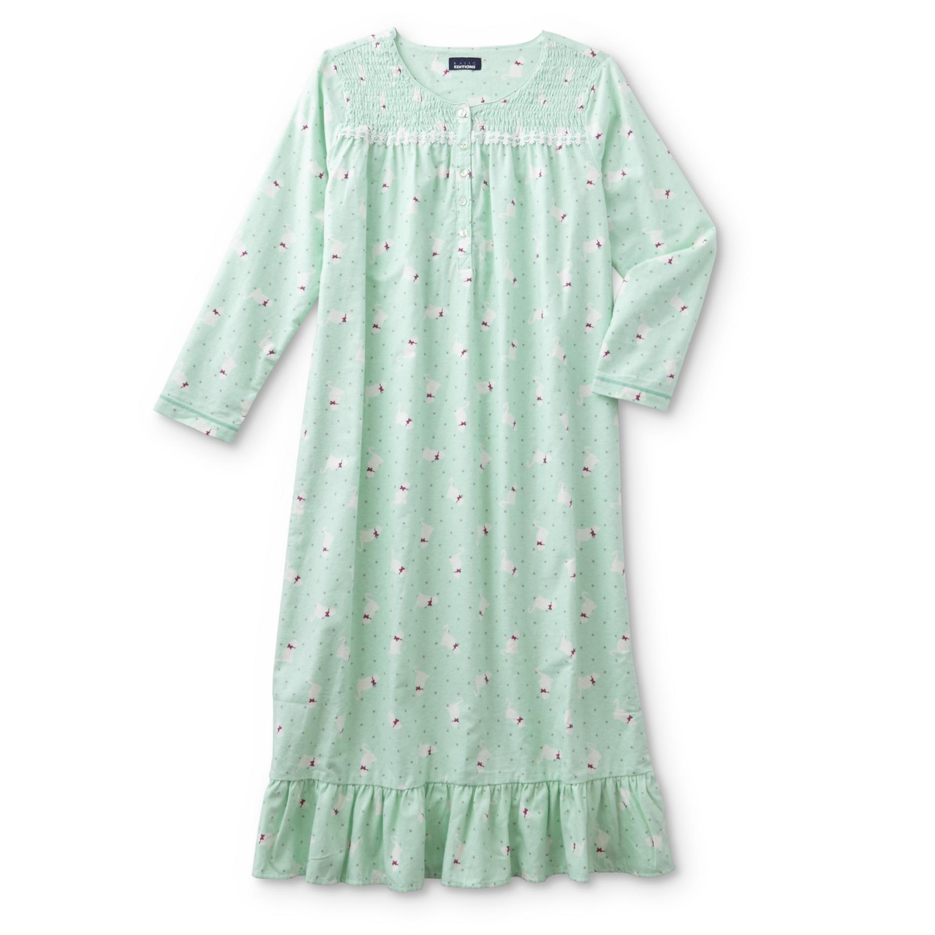 Green Womens Pajamas Robes Kmart