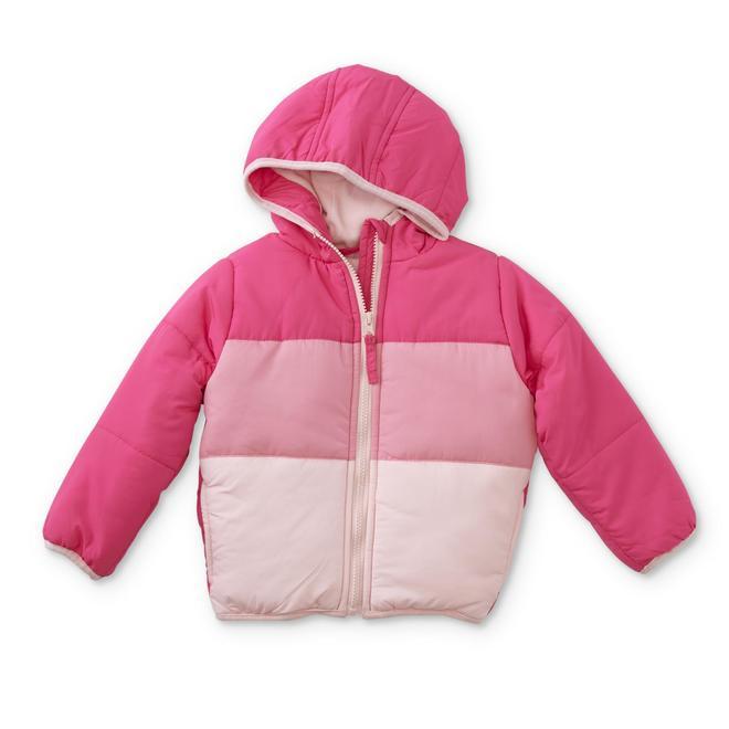 6cada4f84 WonderKids Infant   Toddler Girls  Puffer Jacket