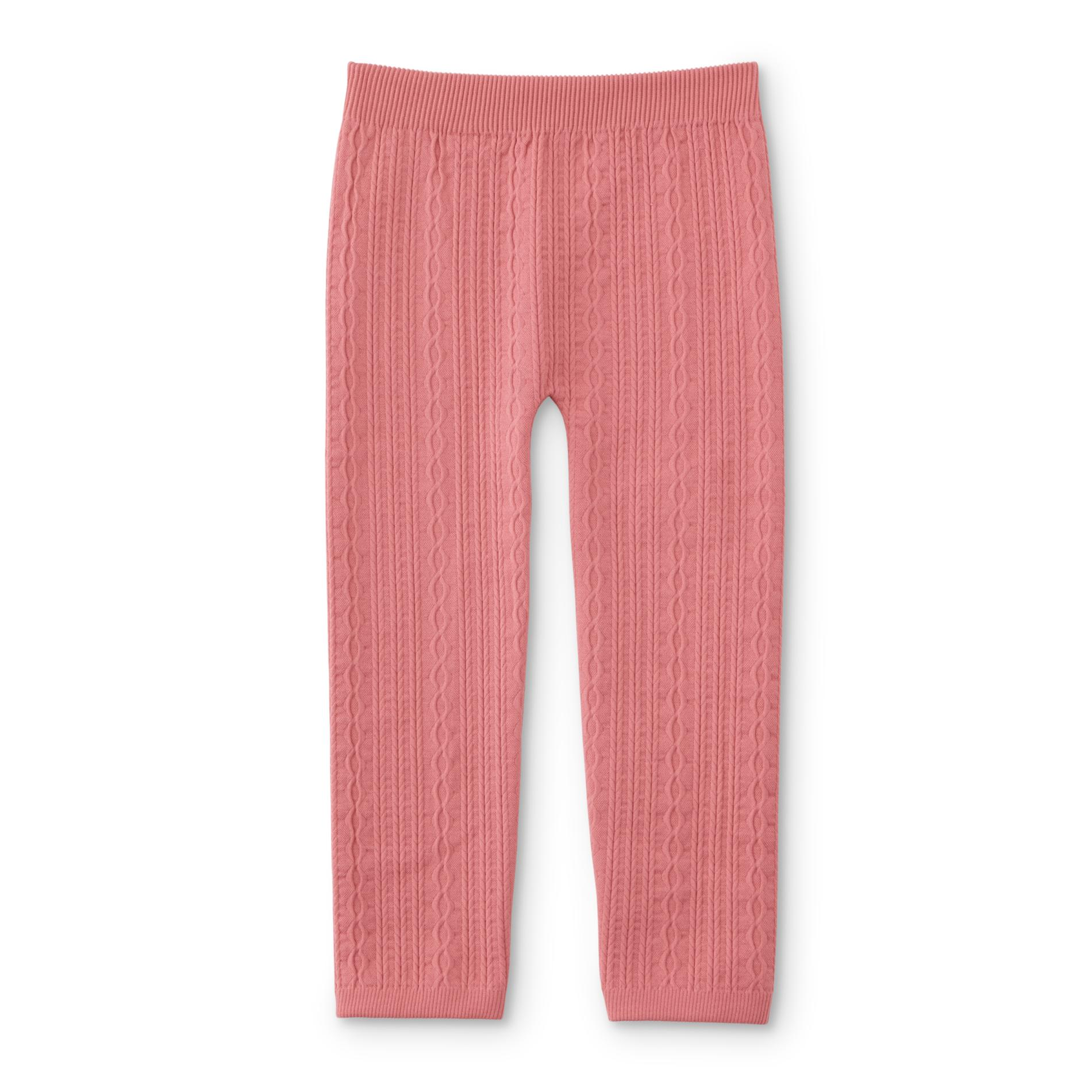 547a3bcc5e854 WonderKids Infant & Toddler Girls' Cable Knit Leggings