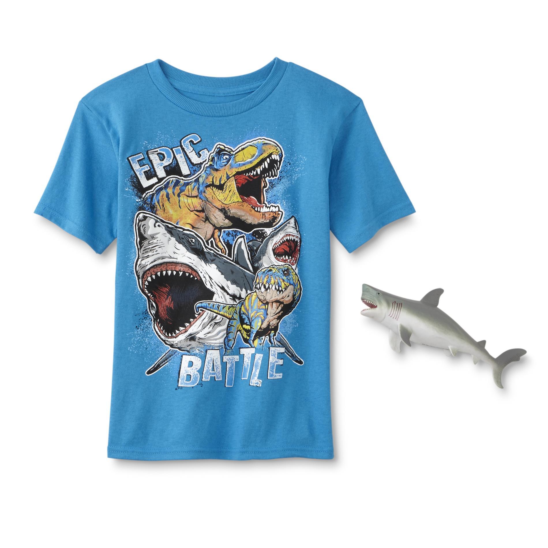 Boy's Graphic T-Shirt & Toy - Apex Predators