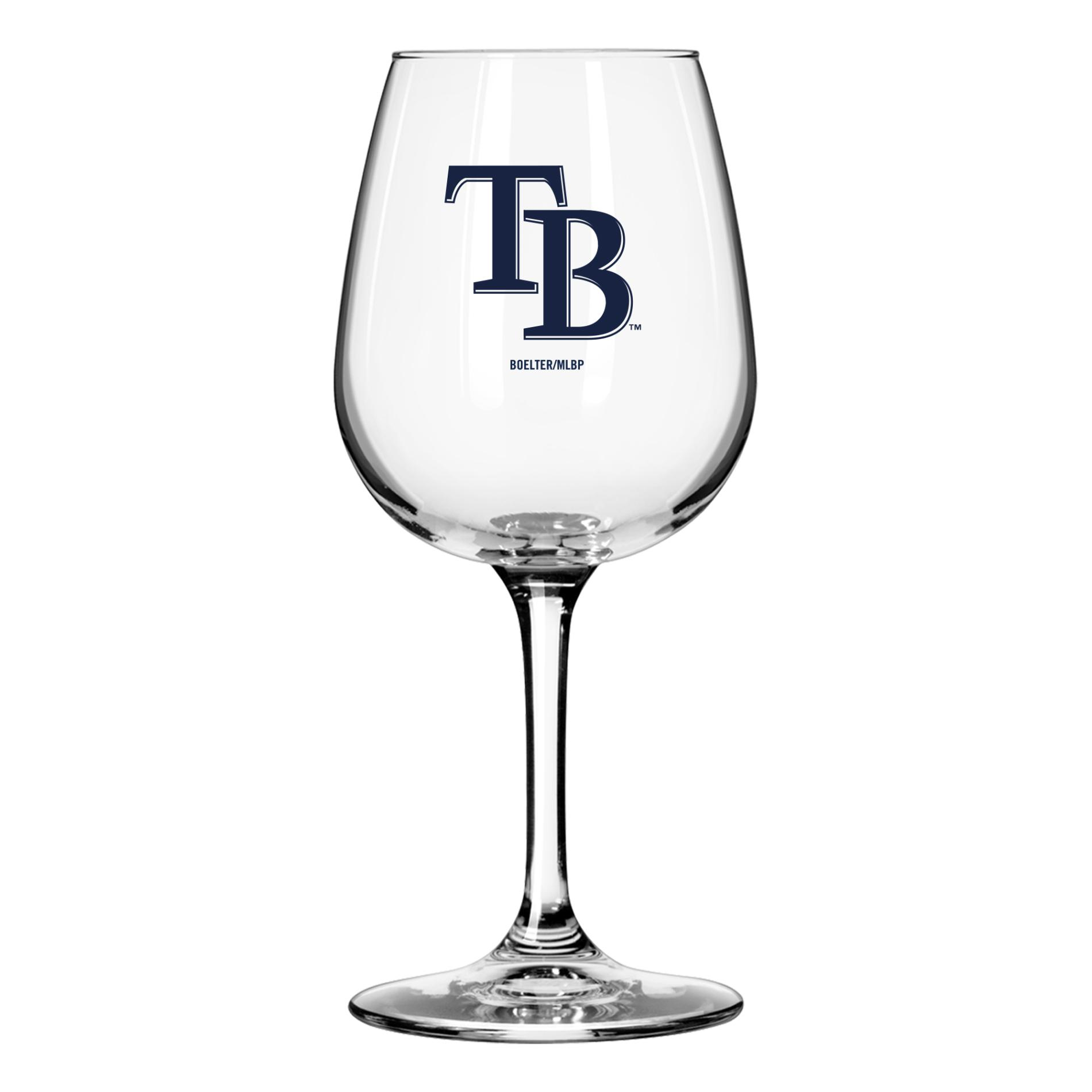 MLB Wine Glass - Tampa Bay Rays, Red im test