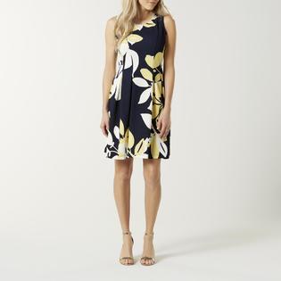 4a5bda7536f Jaclyn Smith Women s A-Line Dress - Floral