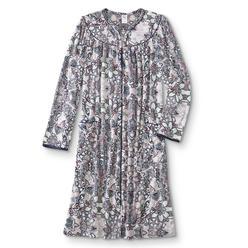 Granada Women s Fleece Duster Robe - Floral afa5caa1d