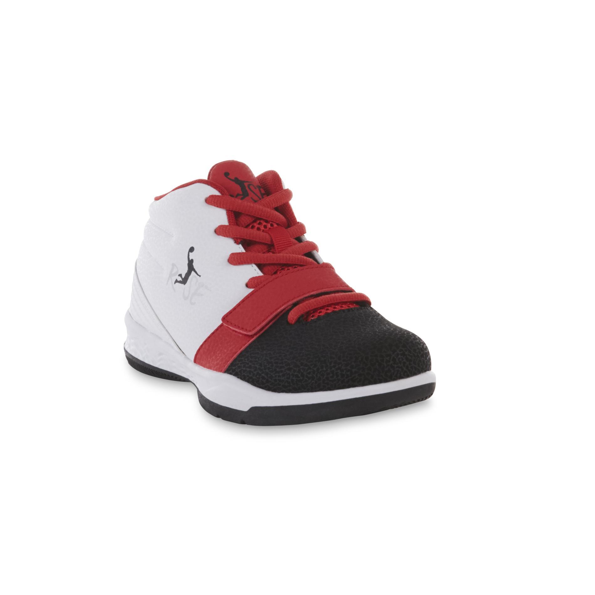 Risewear™ Boy's Loop Red/Black/White Shoe