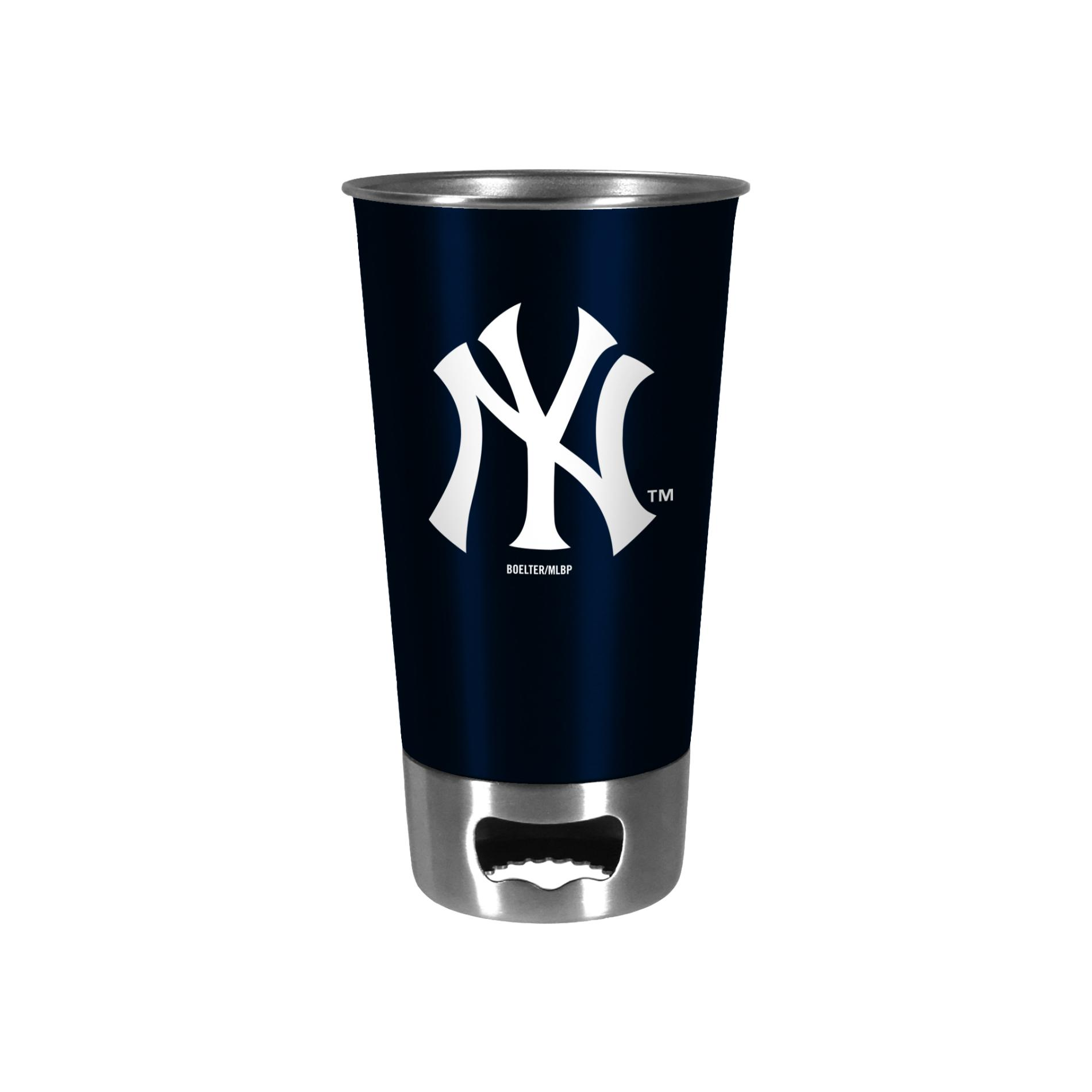 MLB Bottle Opener Metal Cup - New York Yankees PartNumber: 046W001252054001P KsnValue: 1252054 MfgPartNumber: 380307