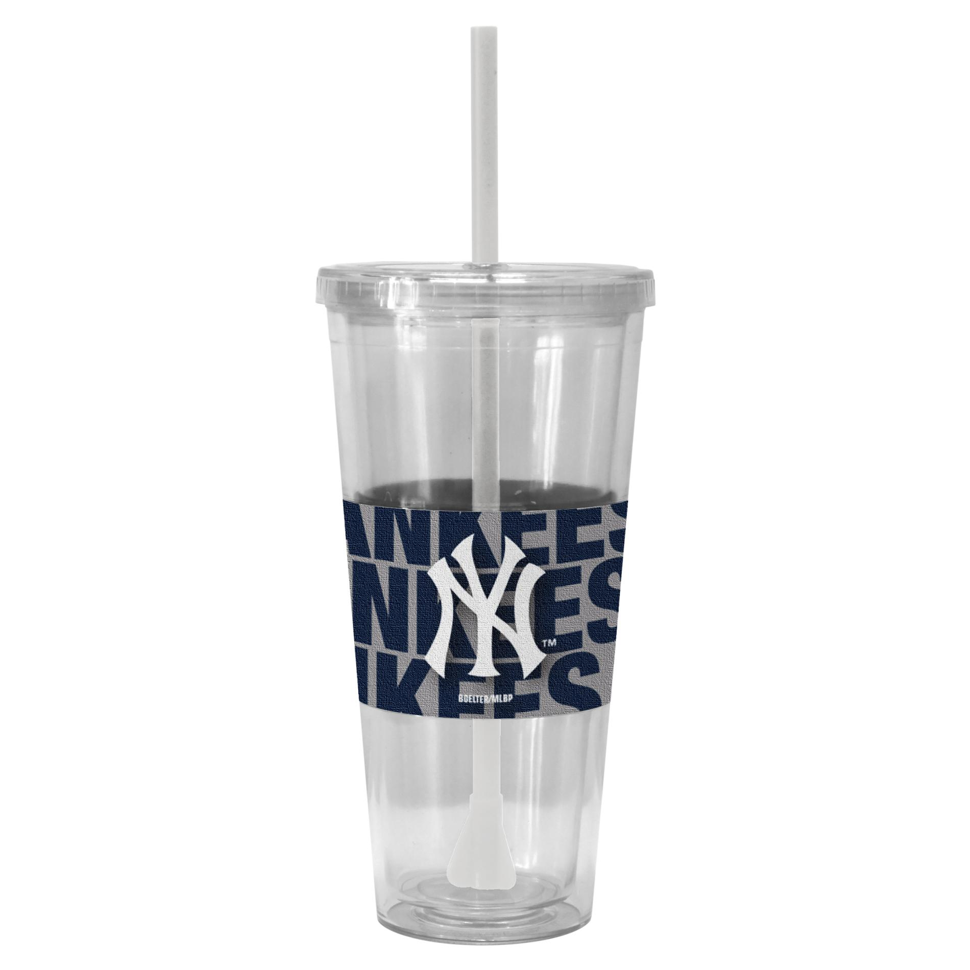 MLB Straw Cup - New York Yankees PartNumber: 046W002513310001P KsnValue: 2513310 MfgPartNumber: 318348