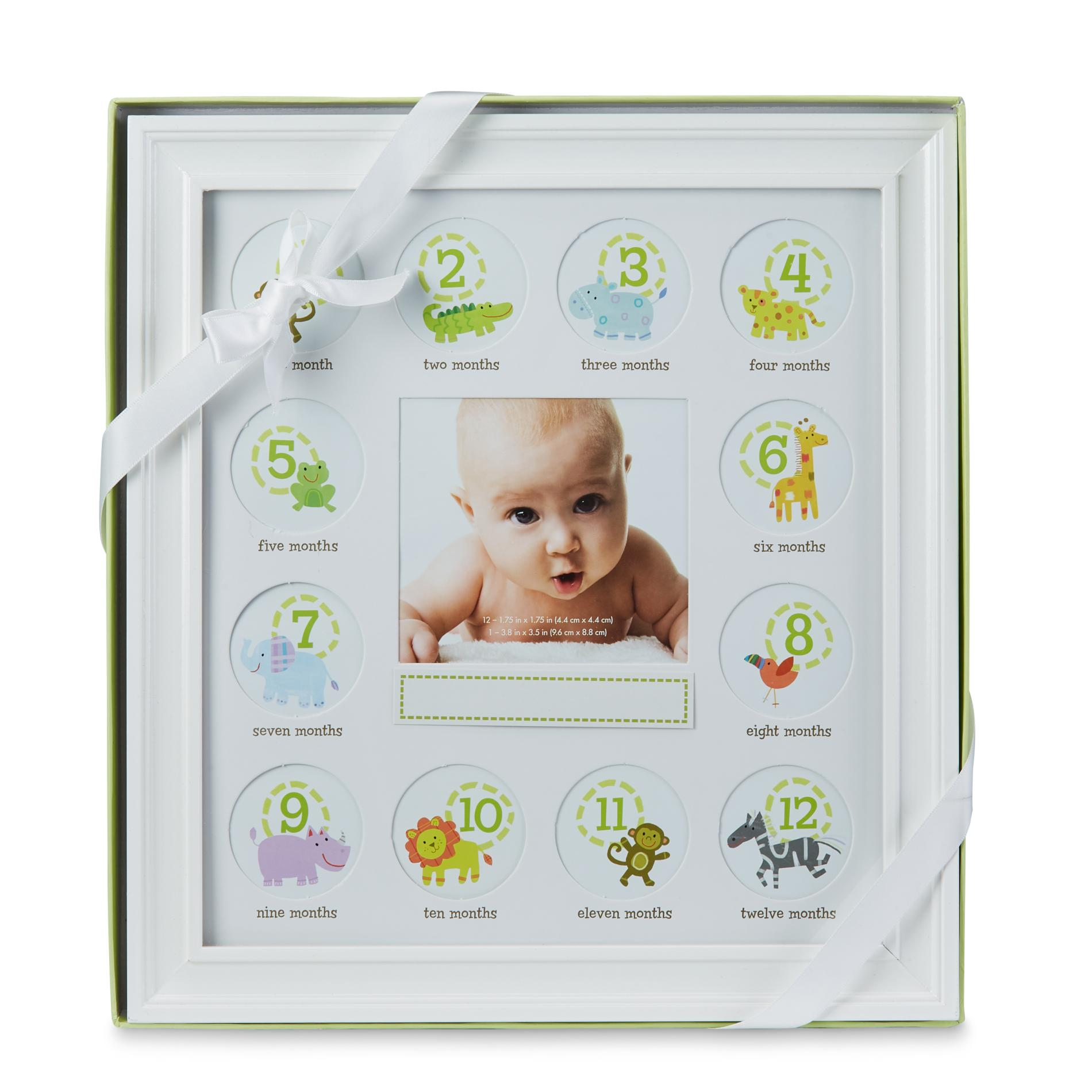 Stepping Stones Babys First Year Picture Frame Mat