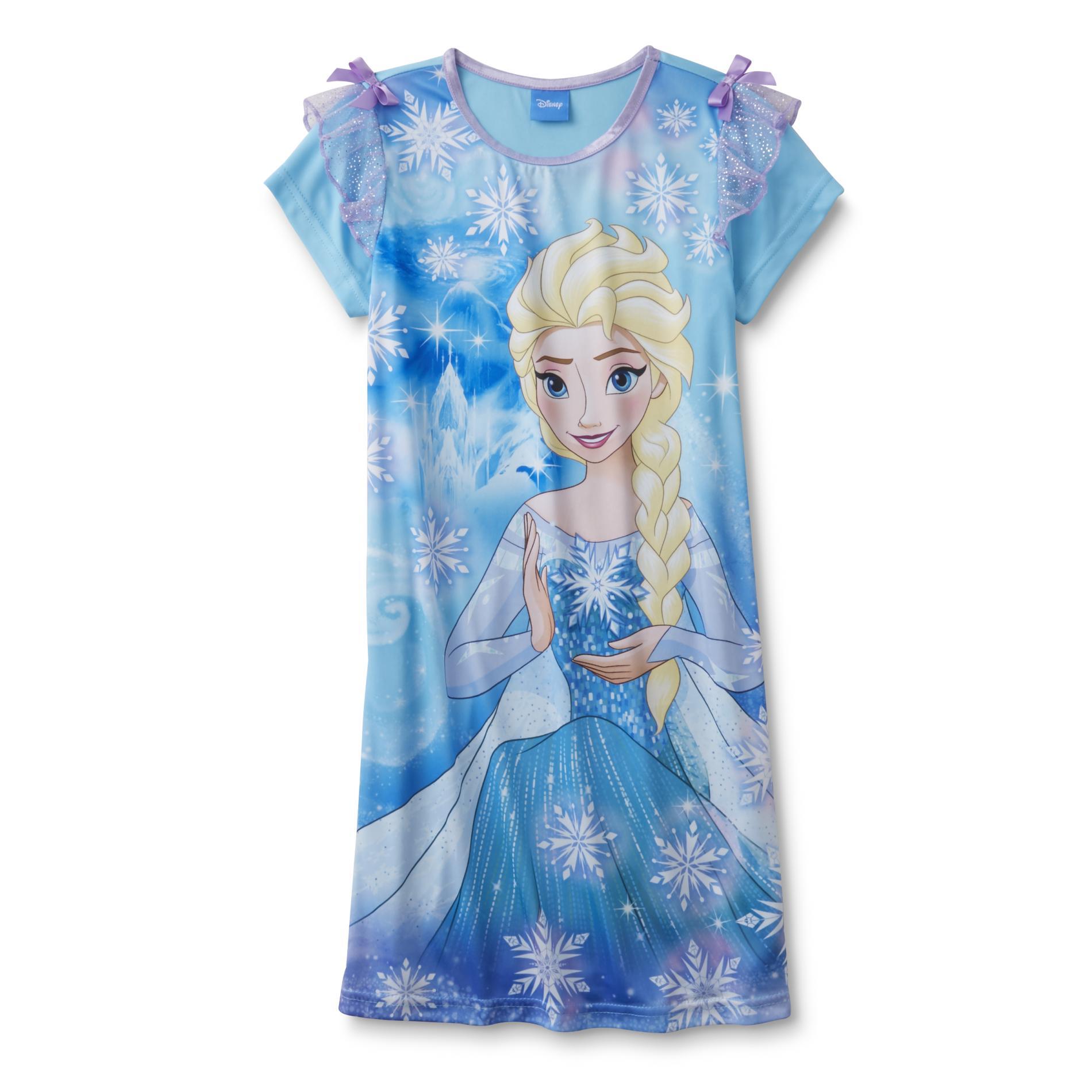Frozen Girl's Nightgown - Elsa