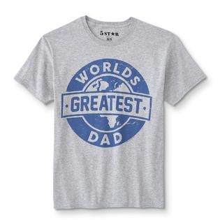 9773af7ae Men's Graphic T-Shirt - World's Greatest Dad
