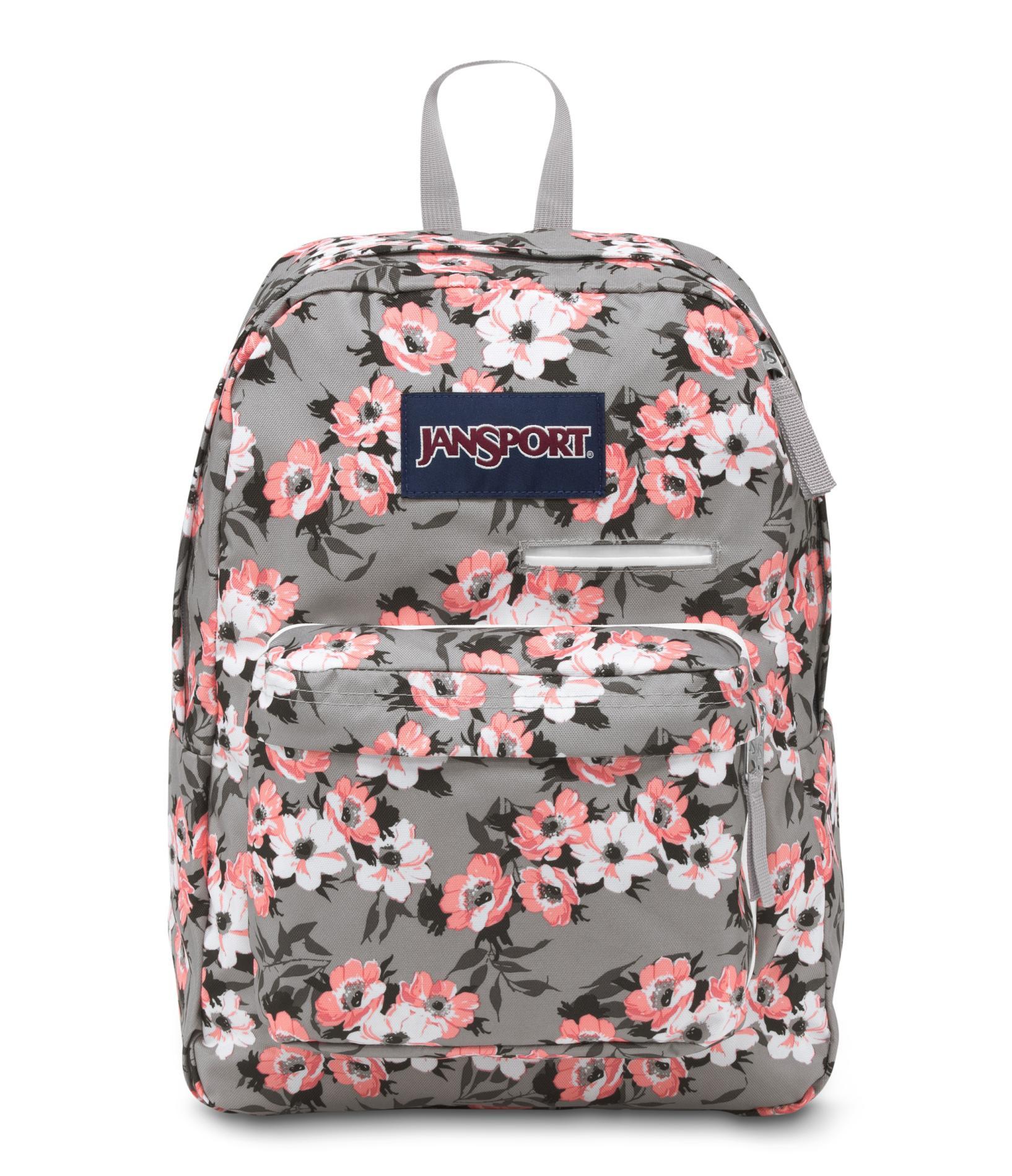 Jansport Digibreak Backpack Floral