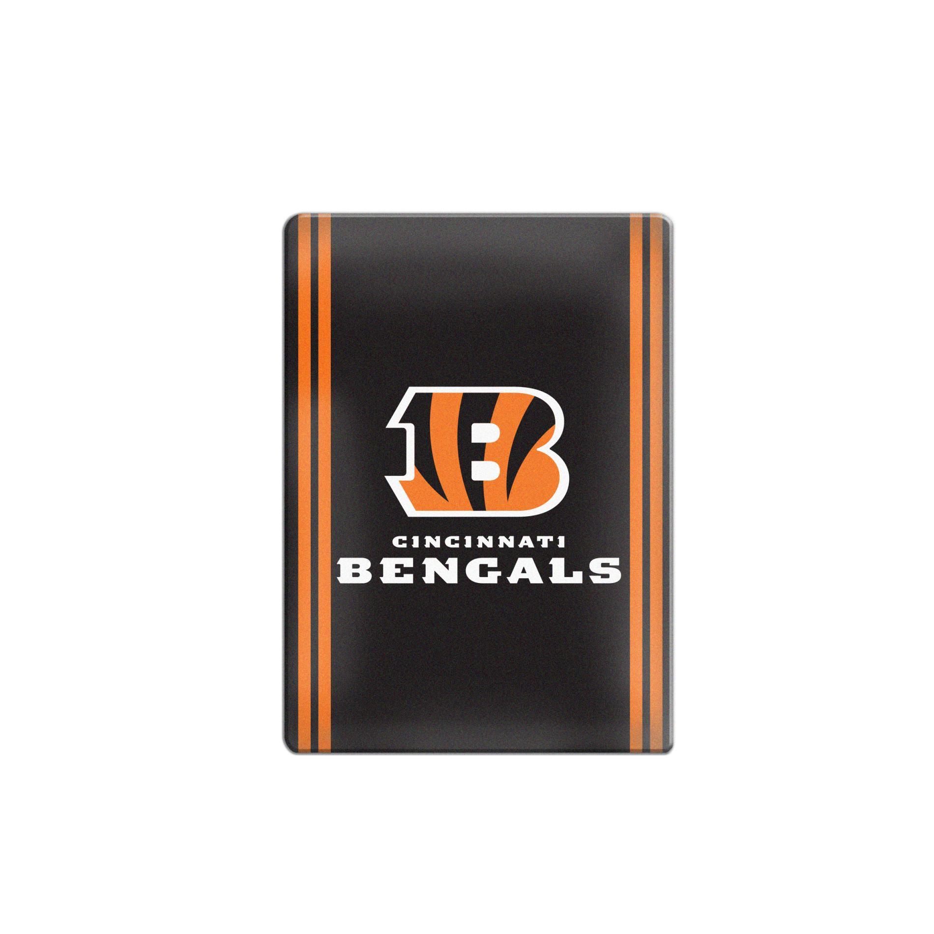 NFL Ceramic Logo Magnet   Cincinnati Bengals