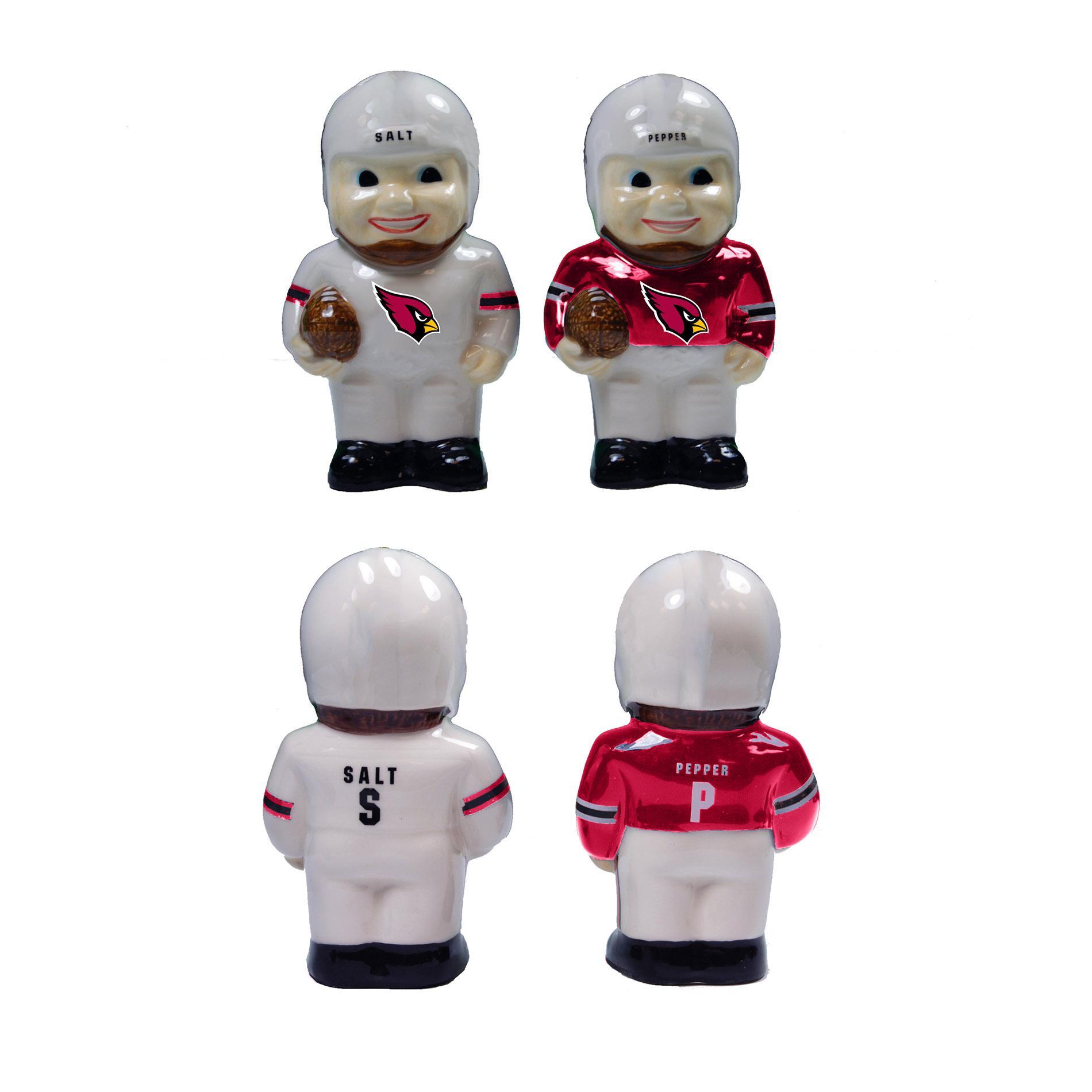 NFL Player Salt & Pepper Shaker Set - Arizona Cardinals PartNumber: 046W009154100001P KsnValue: 9154100 MfgPartNumber: NFL-DAL-1499K6