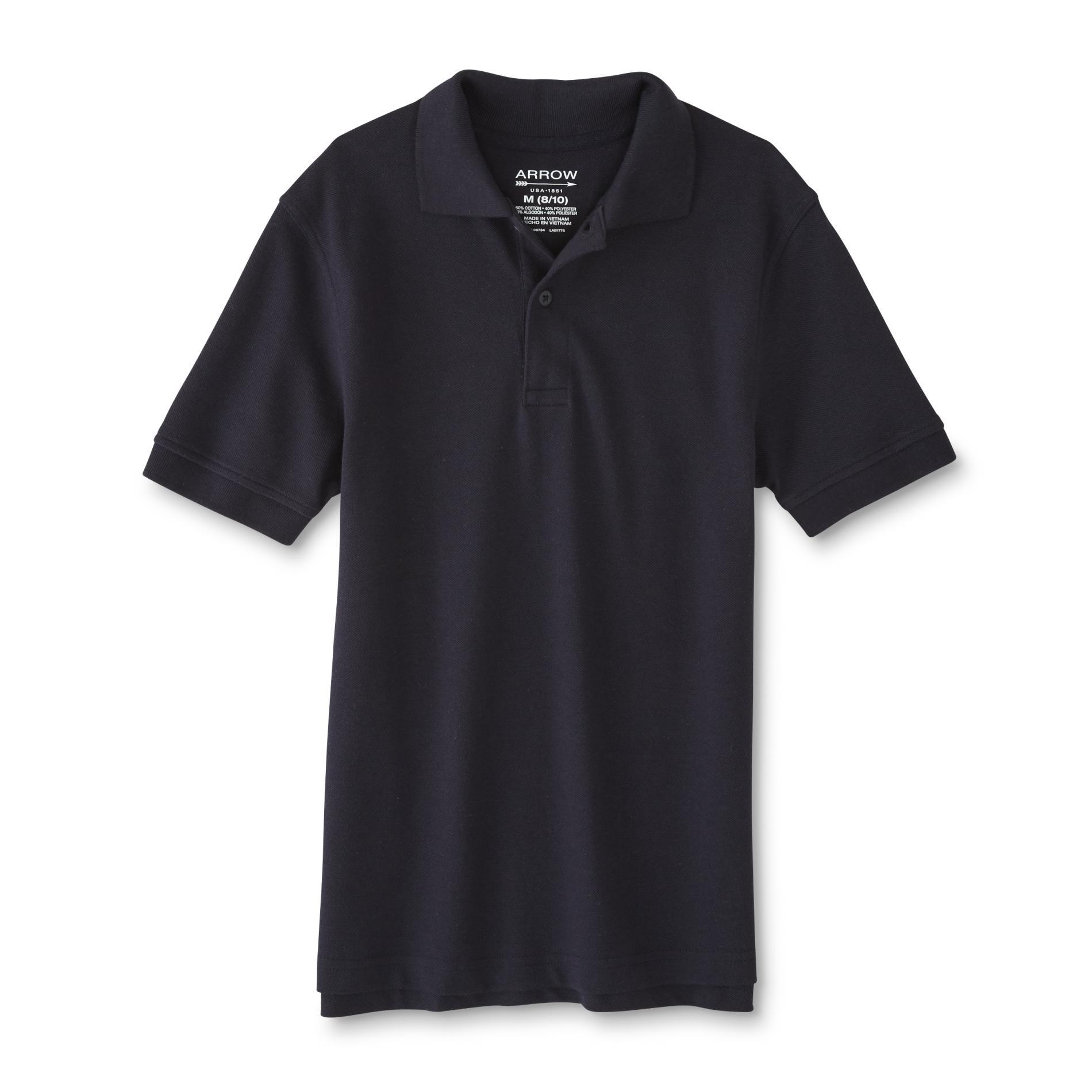 Arrow Boys' Polo Shirt, Size: Small, White im test