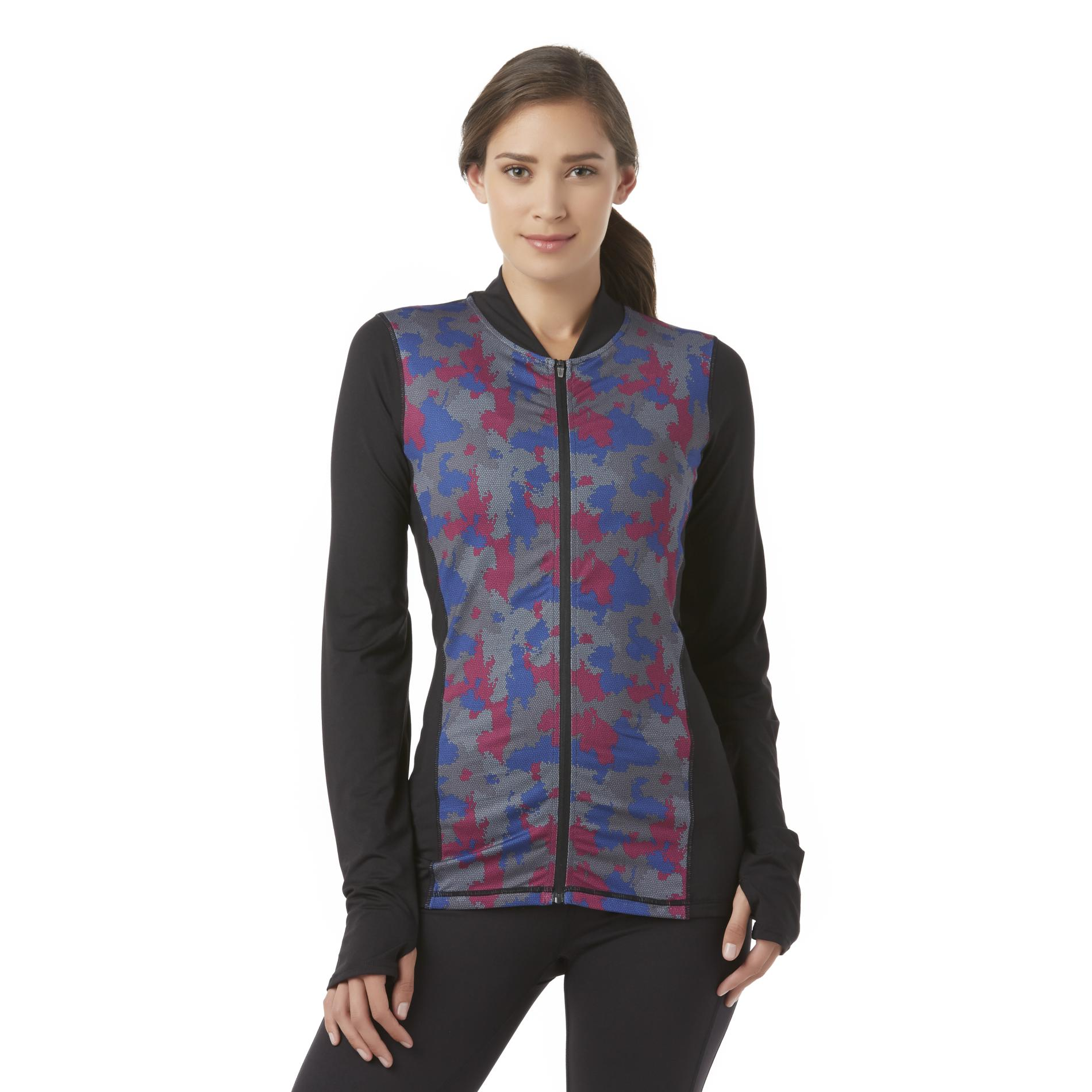 Everlast® Sport Women's Compression Jacket - Abstract PartNumber: 027VA90893912P MfgPartNumber: WF6EV74107MI
