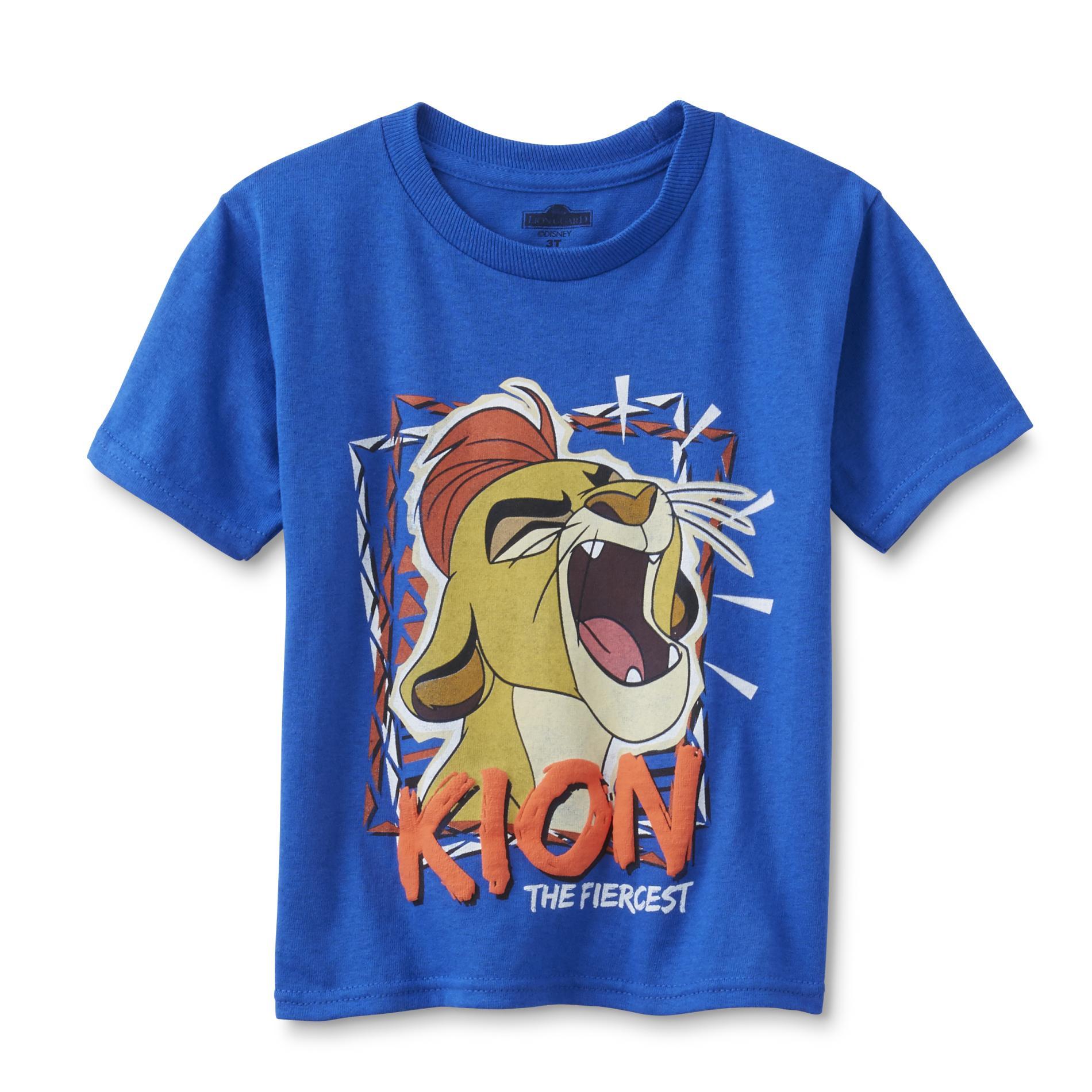 Disney The Lion Guard Toddler Boys' Graphic T-Shirt - Kion