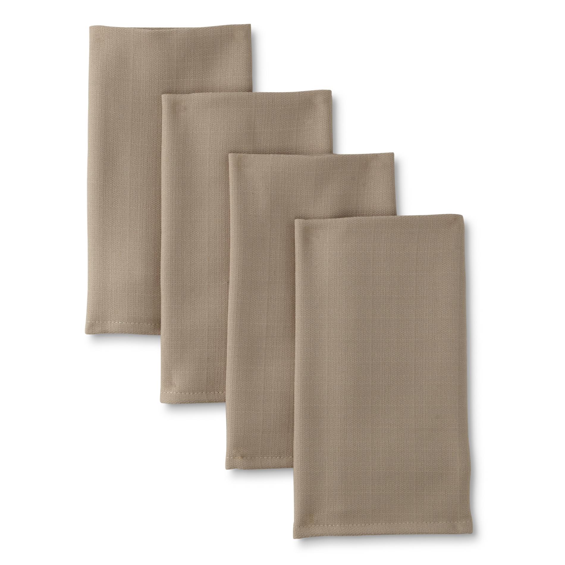 essential home 4pack fabric napkins