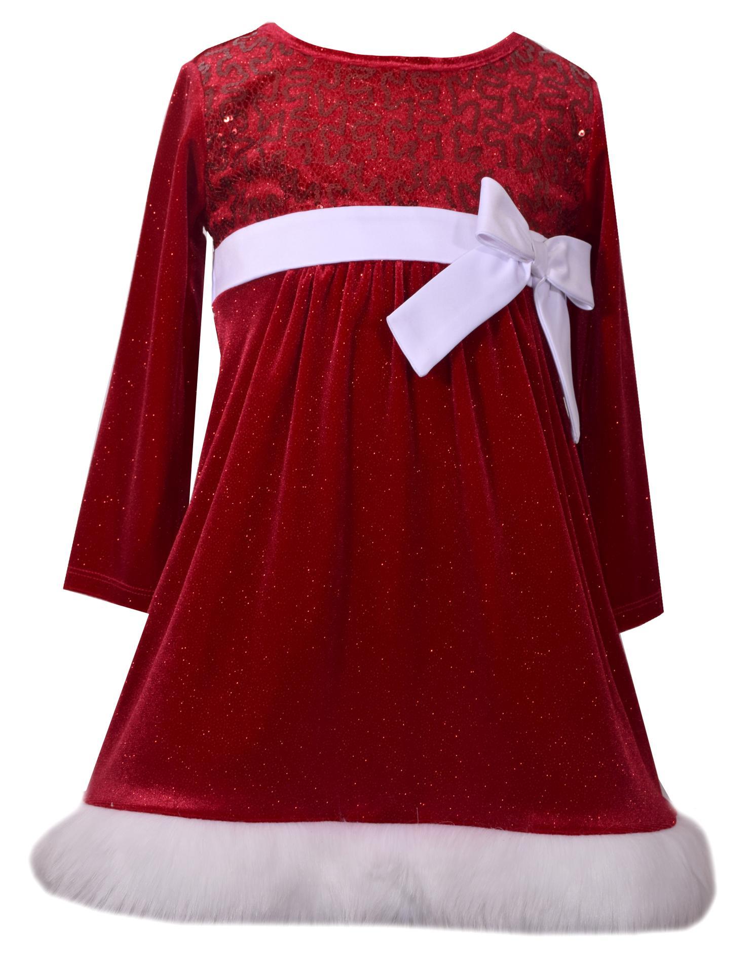 ashley ann infant toddler girls christmas dress - Toddler Girls Christmas Dress