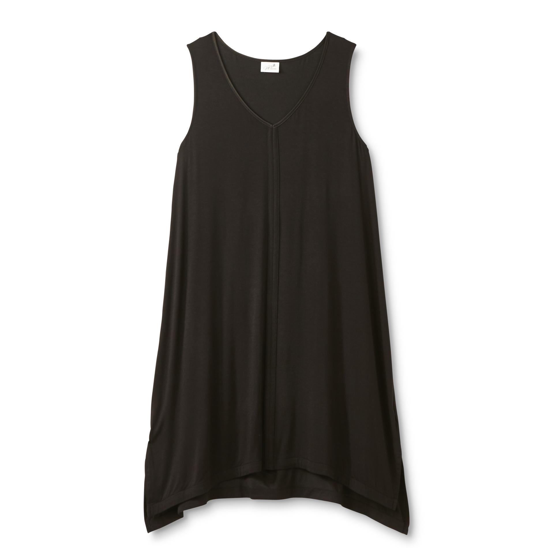 Jaclyn Smith Women's Plus Sleeveless Nightgown