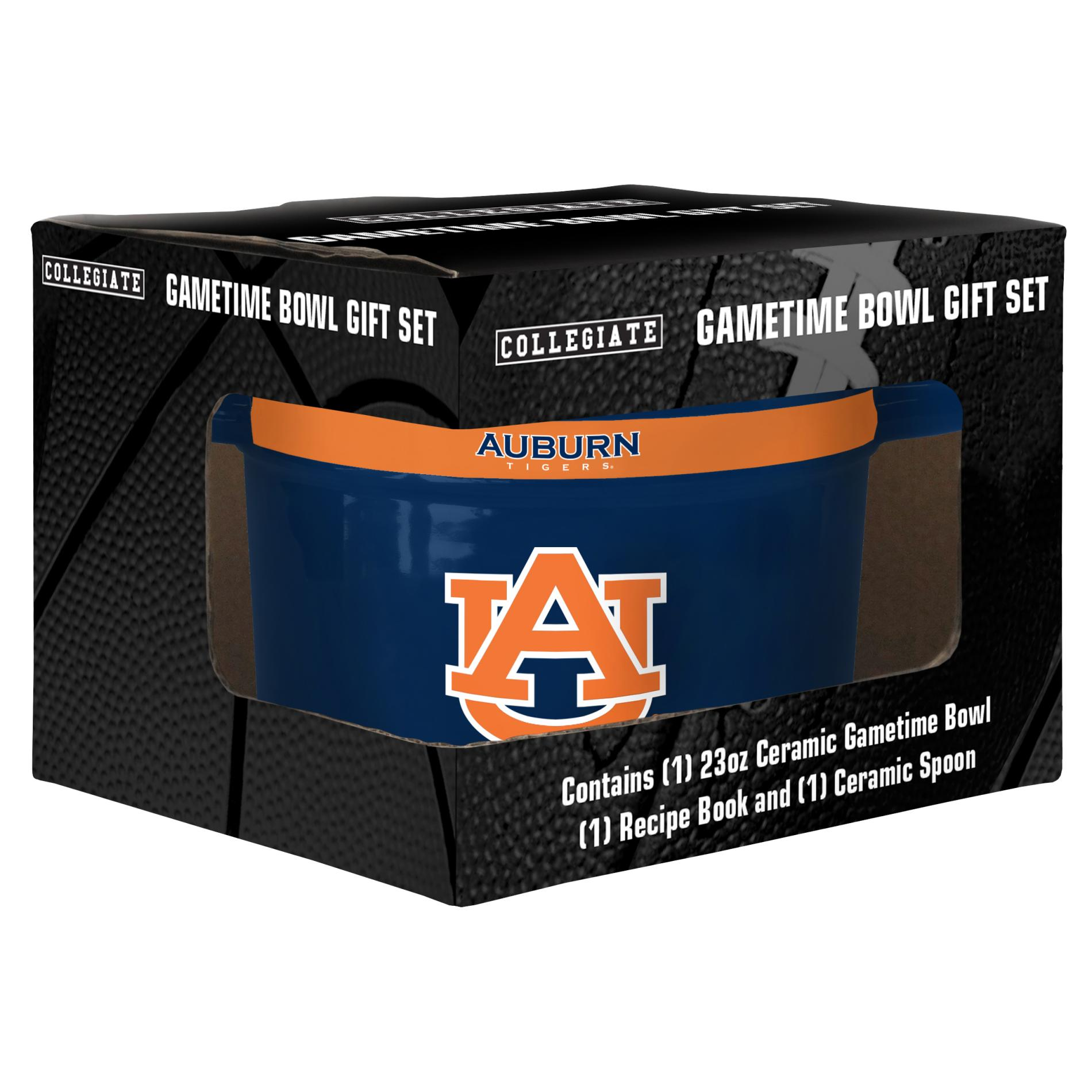 NCAA Ceramic Bowl Set - Auburn University Tigers PartNumber: 046W008427932001P KsnValue: 8427932 MfgPartNumber: 464082