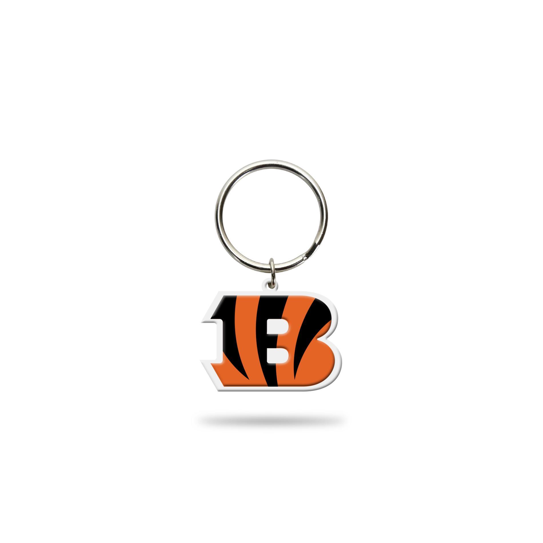 NFL Key Chain - Cincinnati Bengals PartNumber: 046W003522027001P KsnValue: 3522027 MfgPartNumber: FLXK3201