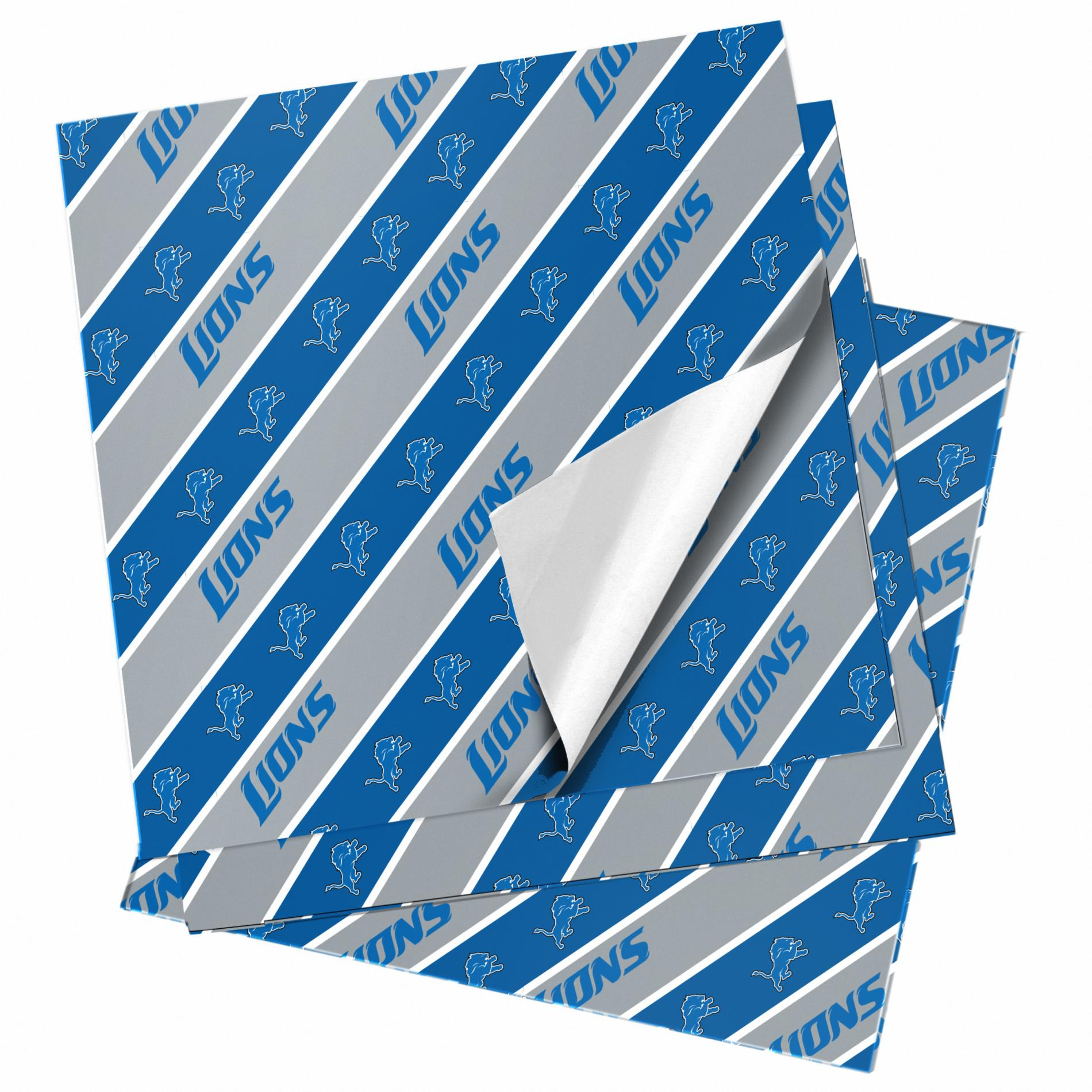 NFL Folded Gift Wrapping Paper - Detroit Lions im test