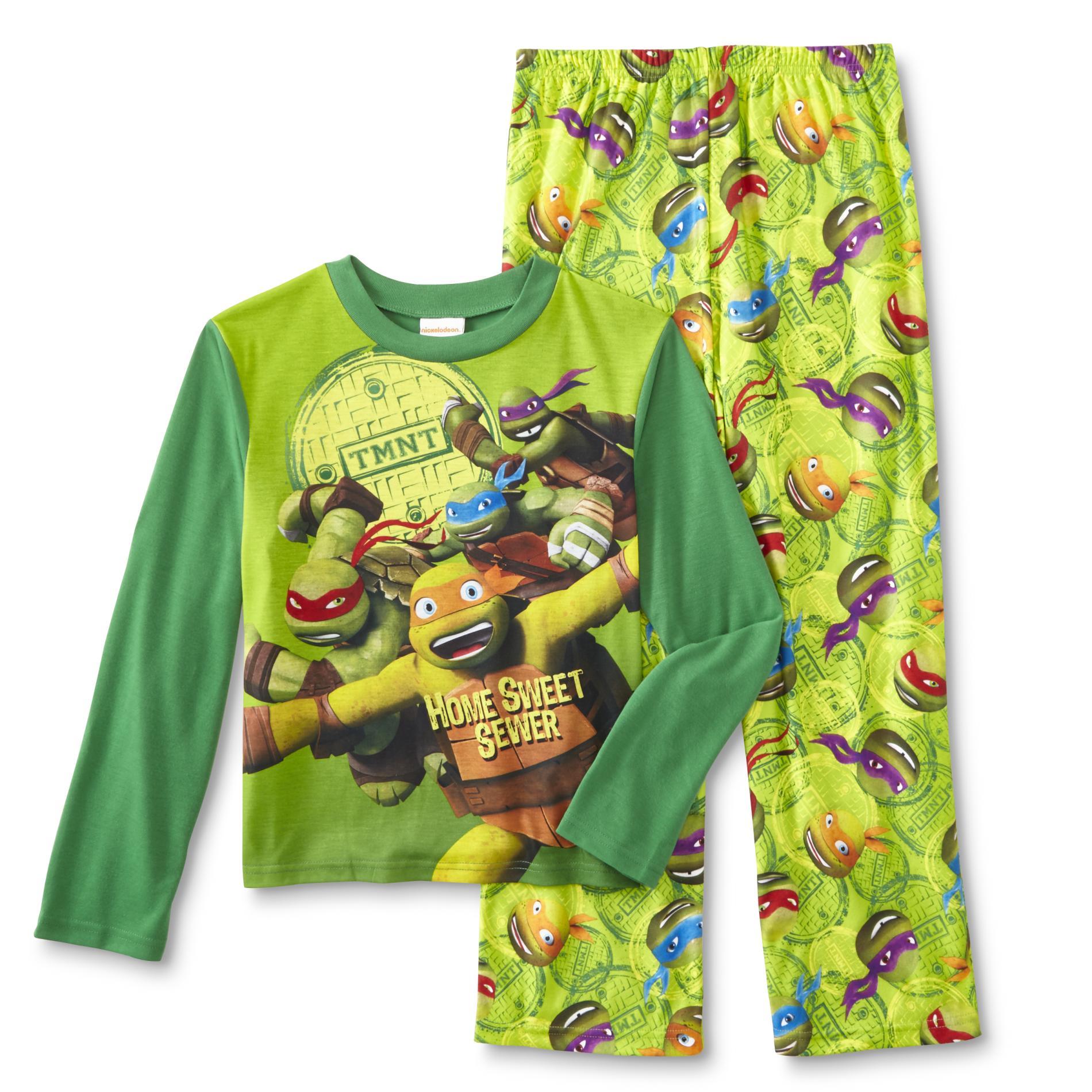 Teenage Mutant Ninja Turtles Boys' Pajama Shirt & Pants