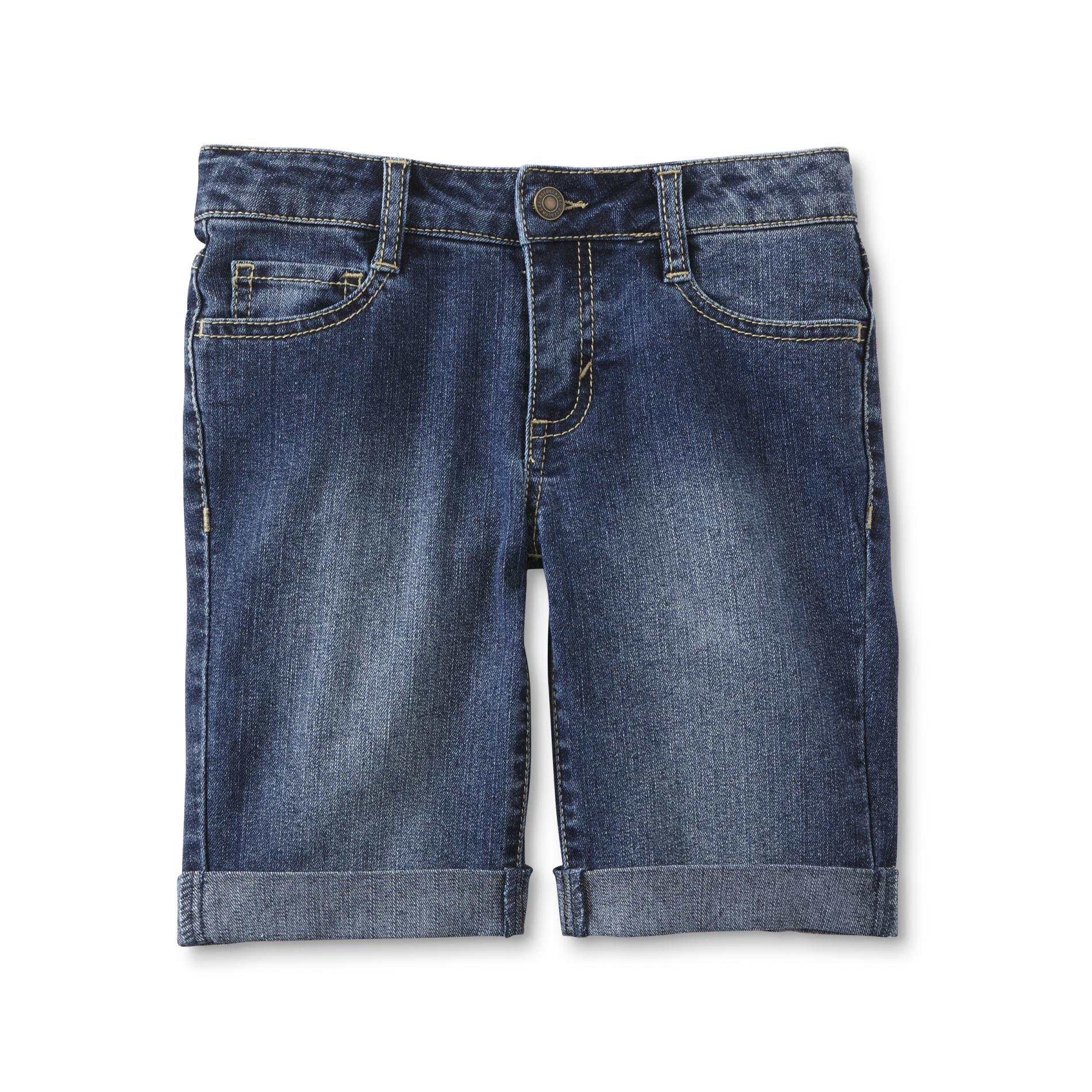 Roebuck & Co. Girls' Bermuda Jean Shorts