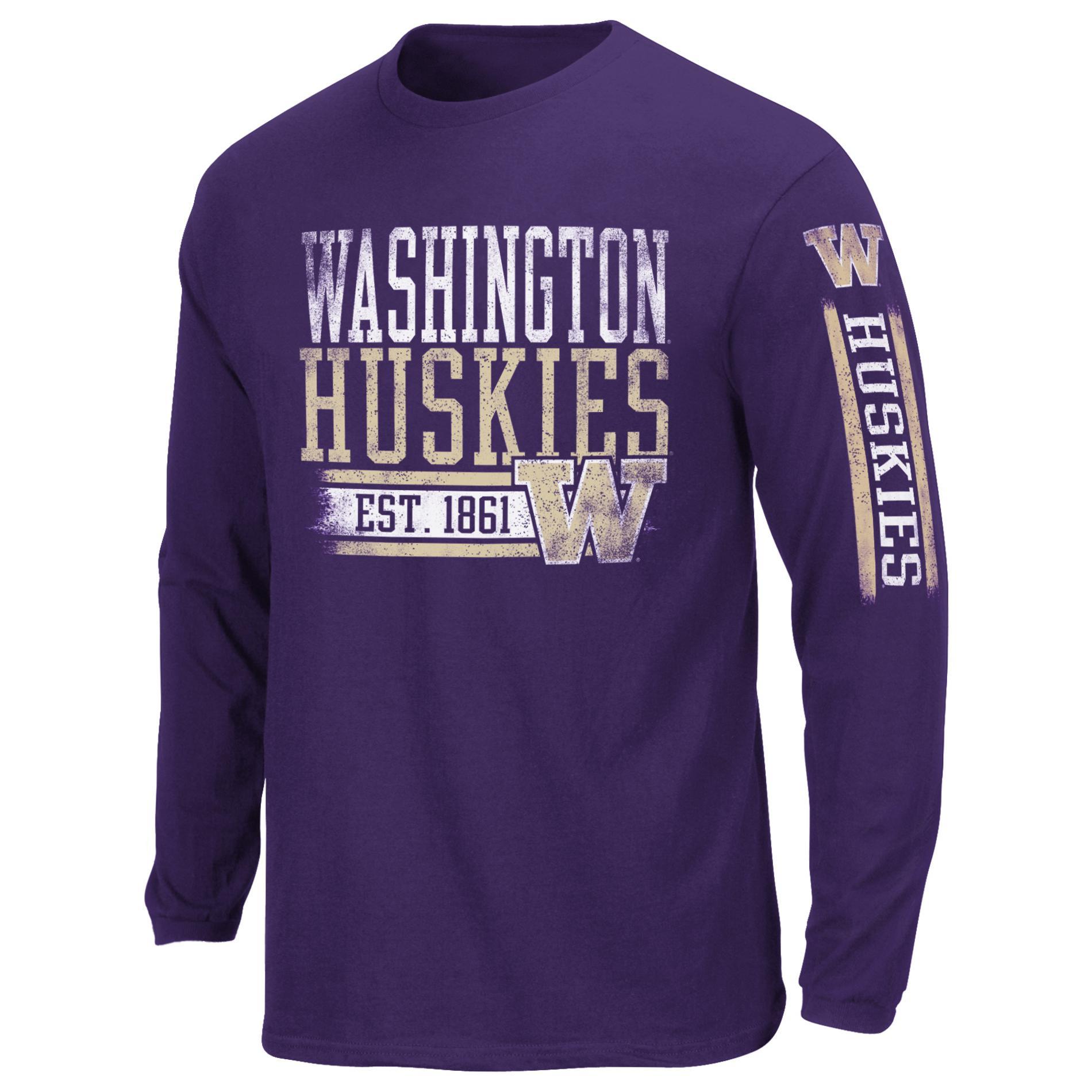 Men's Long-Sleeve T-Shirt - Washington Huskies