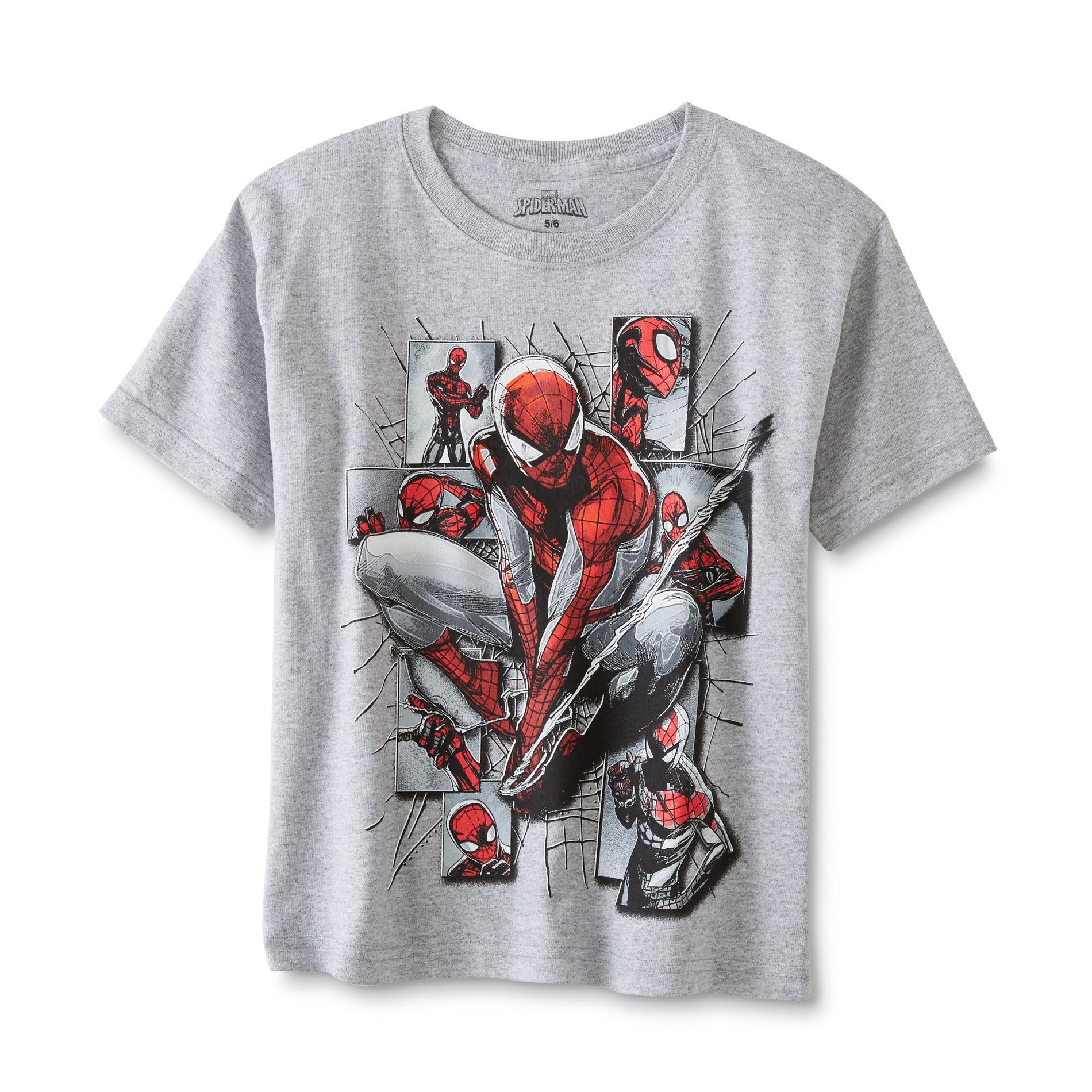 Marvel Spider-Man Boys' Graphic T-Shirt PartNumber: 040VA94947212P MfgPartNumber: 2ULT93500SE