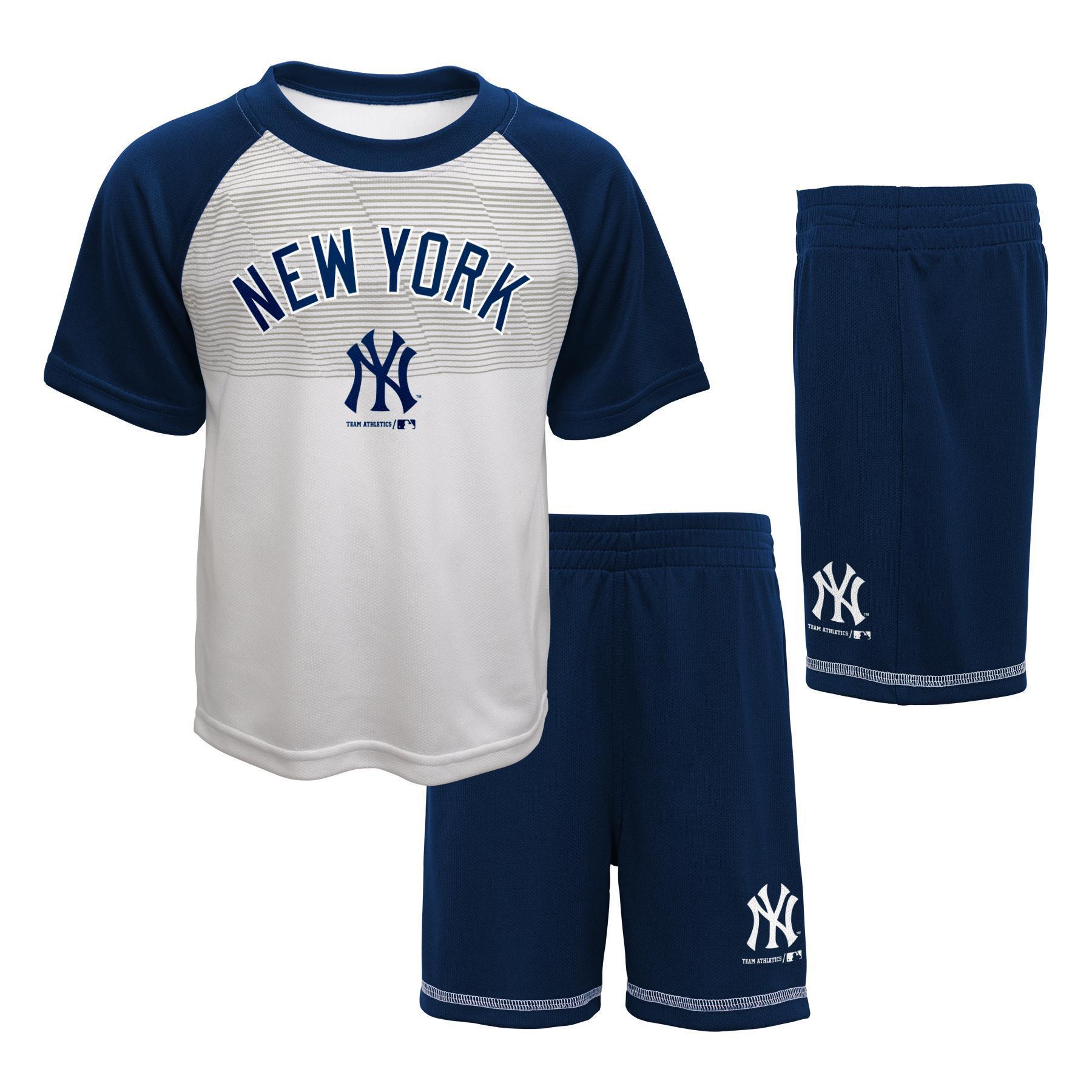 MLB Toddler Boys' T-Shirt & Shorts - New York Yankees, Size: 2T