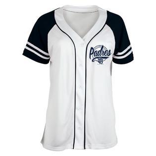 brand new 6cbd2 b477f MLB Girls' Baseball Jersey - San Diego Padres