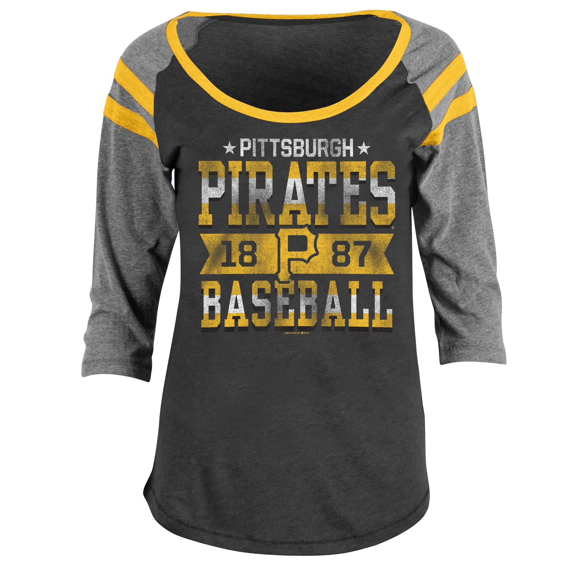 Mlb Women S Graphic T Shirt Pittsburgh Pirates