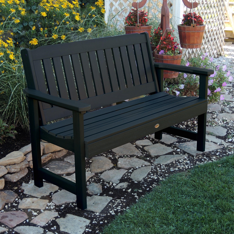 Lehigh Commercial Grade 4ft Synthetic Wood Garden Bench
